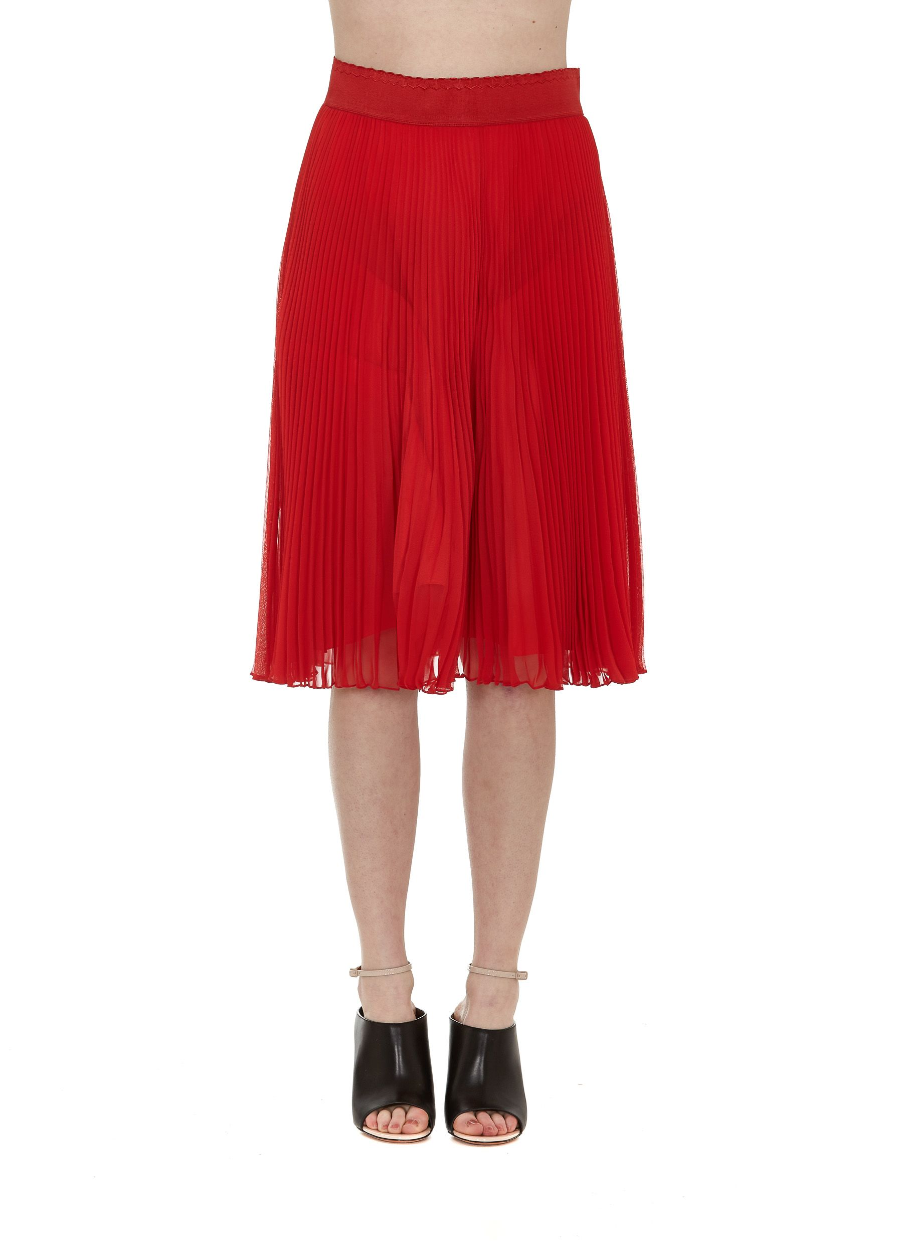 Givenchy Plisse Skirt