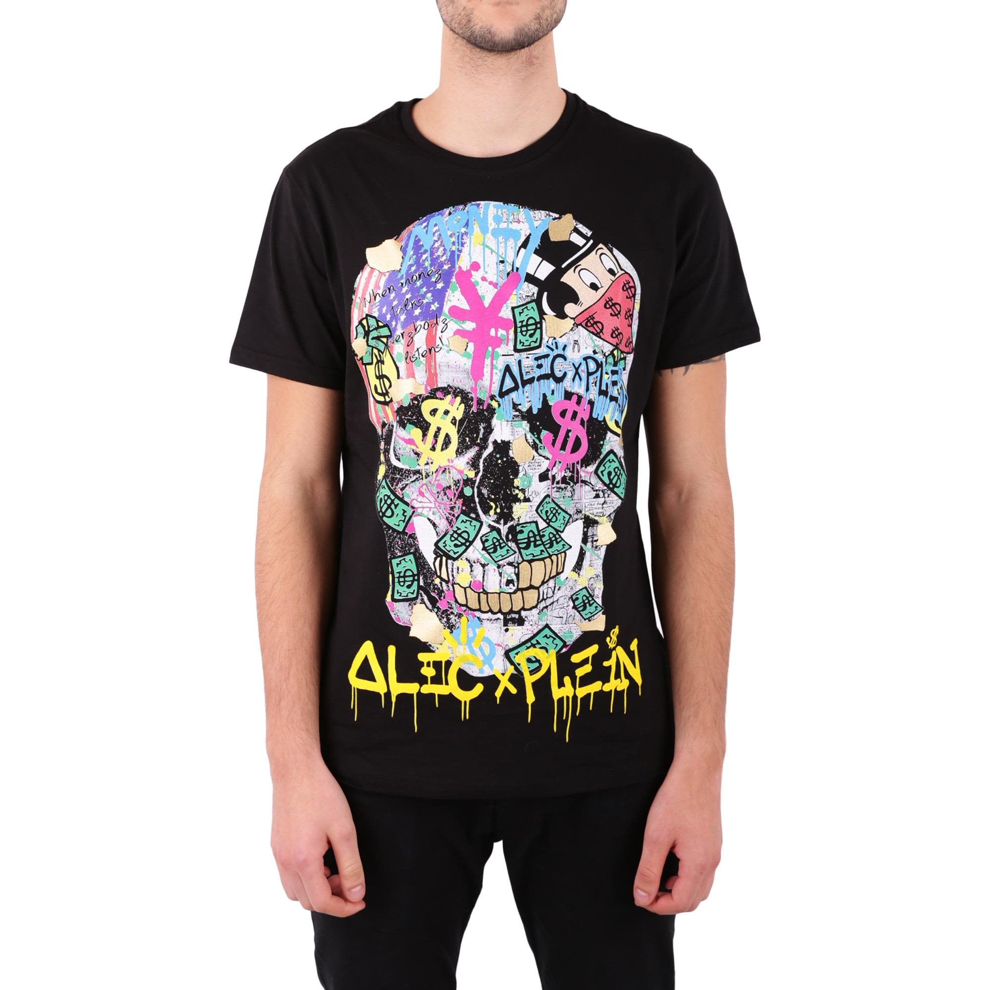 Philipp Plein New Alec Cotton T-shirt