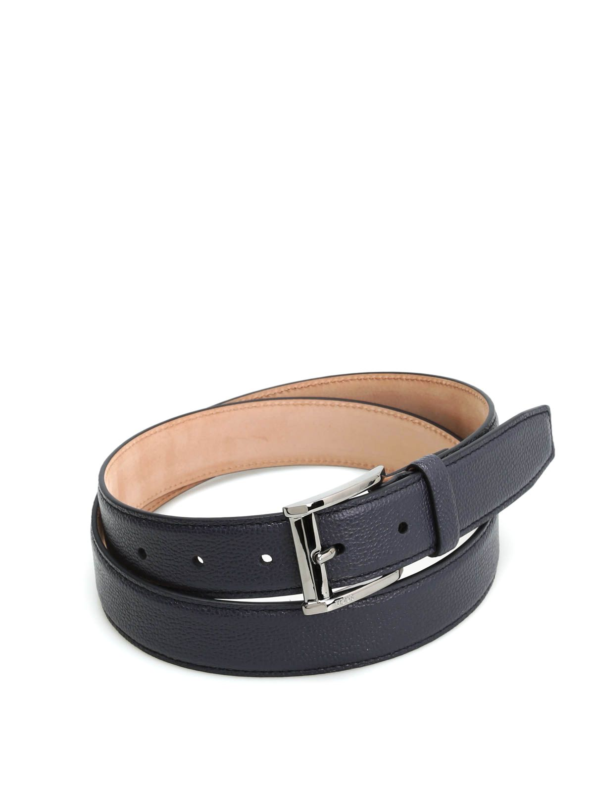 Tods Squared Buckle Belt