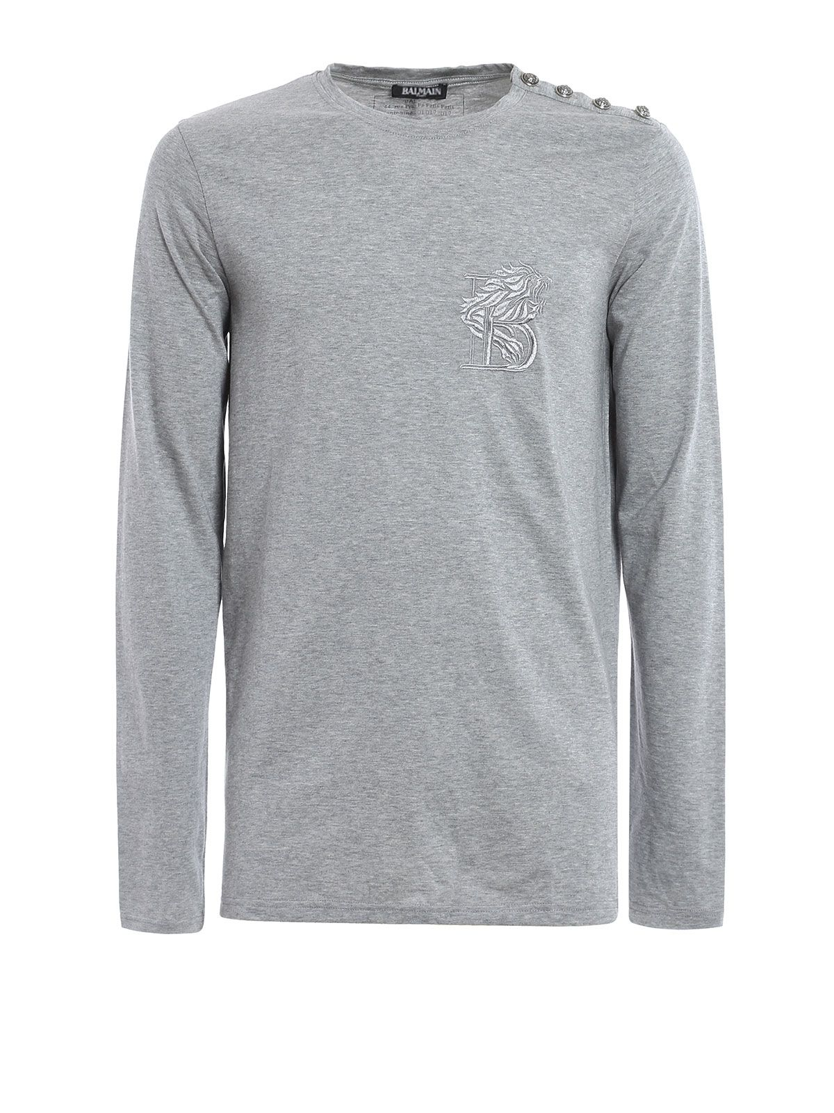 Embroidered Logo Lion T-shirt