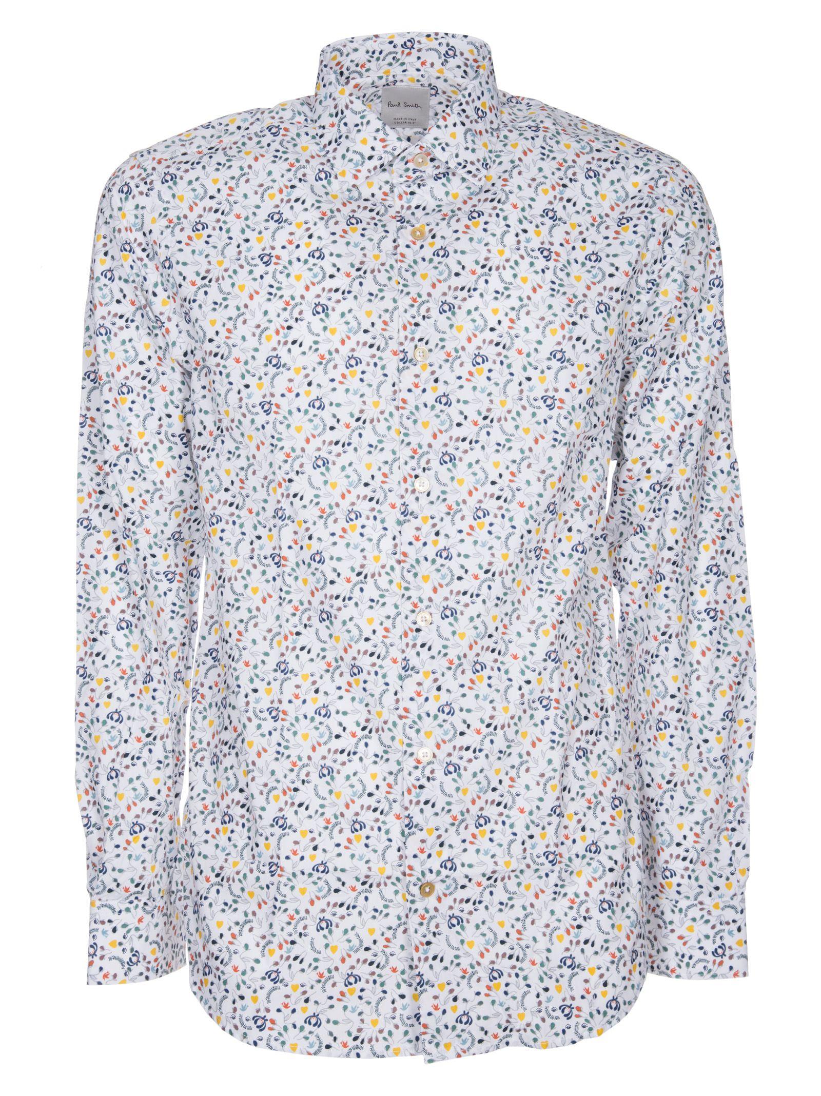 Paul Smith Floral Heart Shirt