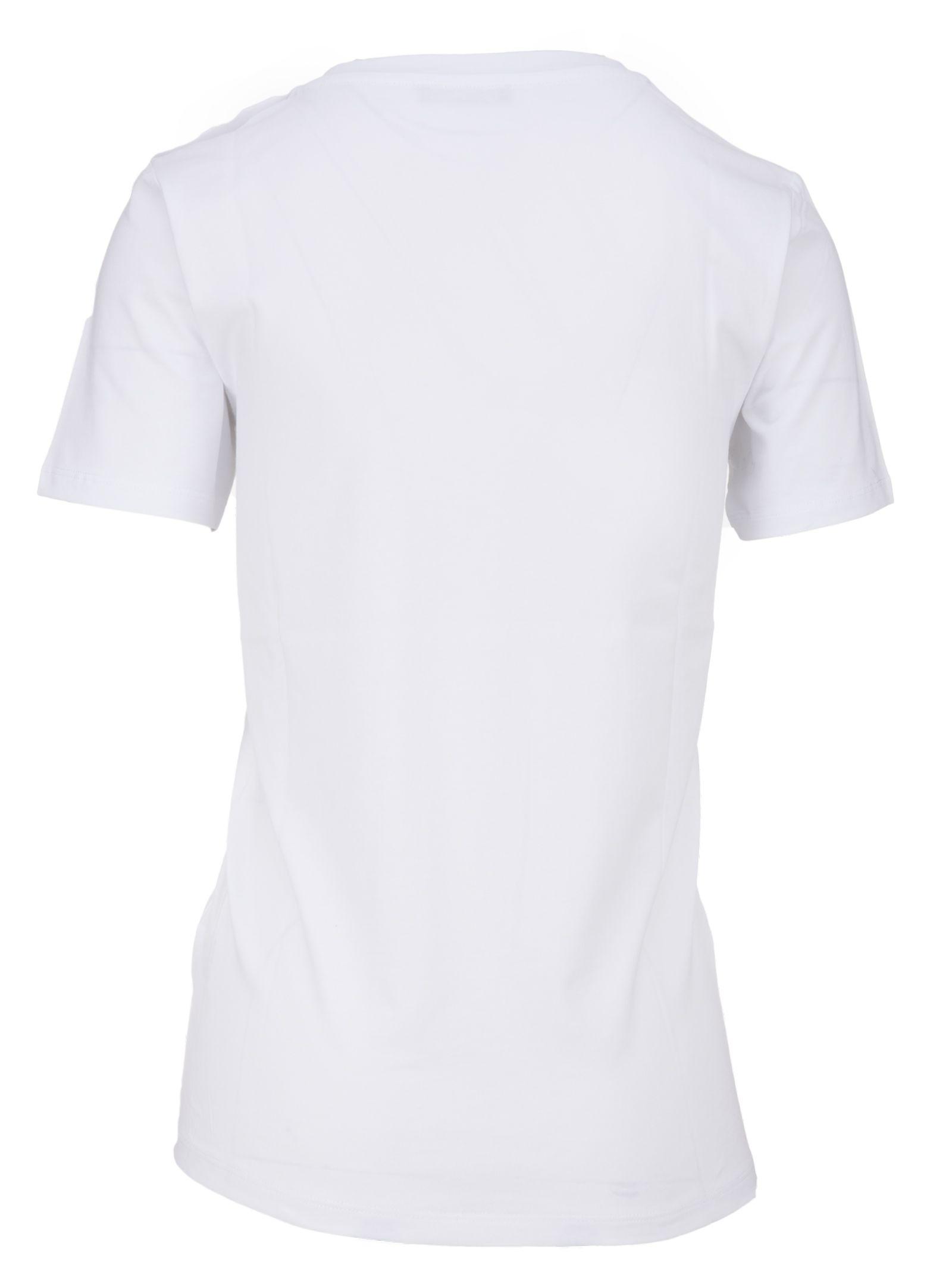balmain balmain paris t shirt bianco women 39 s short sleeve t shirts italist. Black Bedroom Furniture Sets. Home Design Ideas