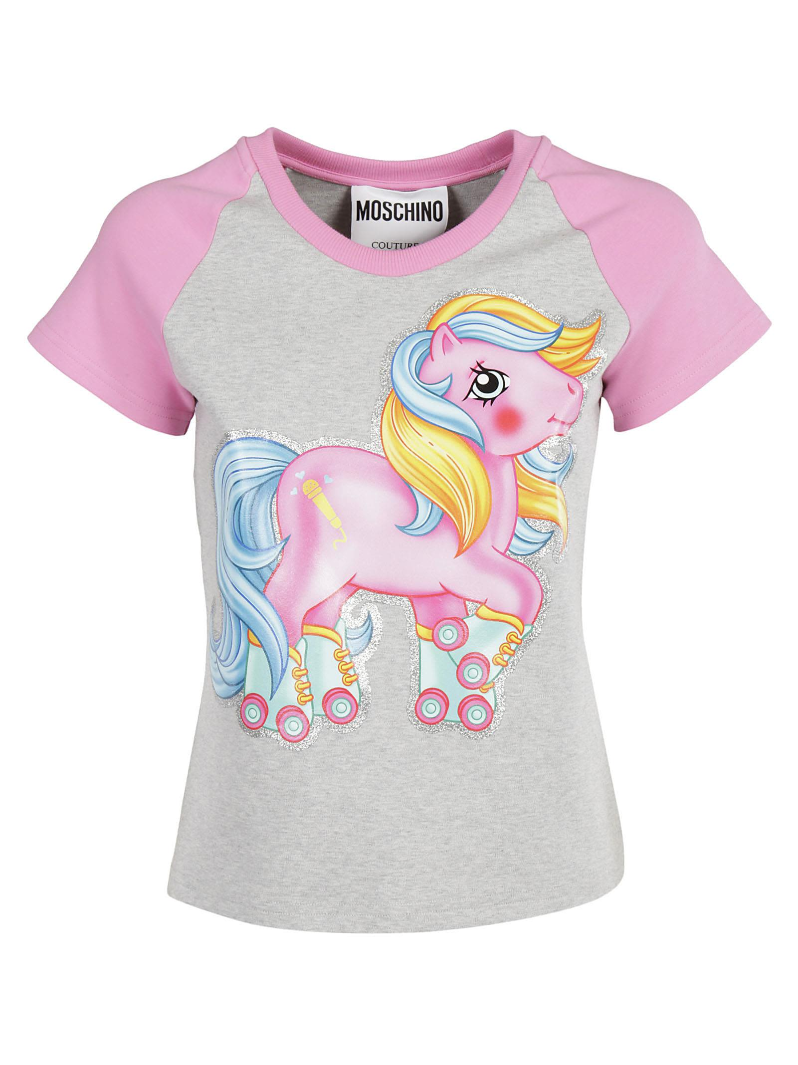 Moschino My Little Poni Varsity T-shirt