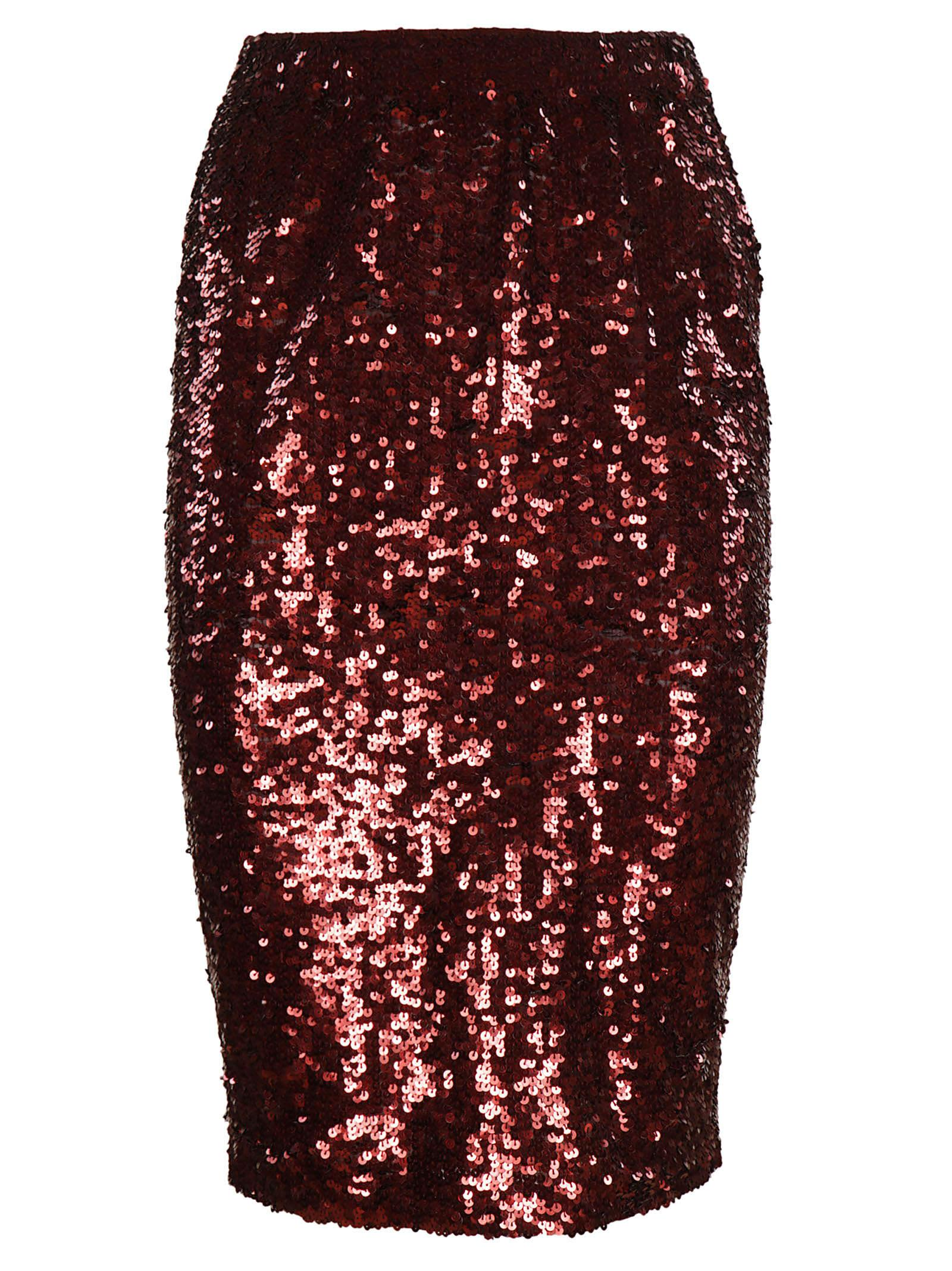 P.a.r.o.s.h. Sequin Pencil Skirt
