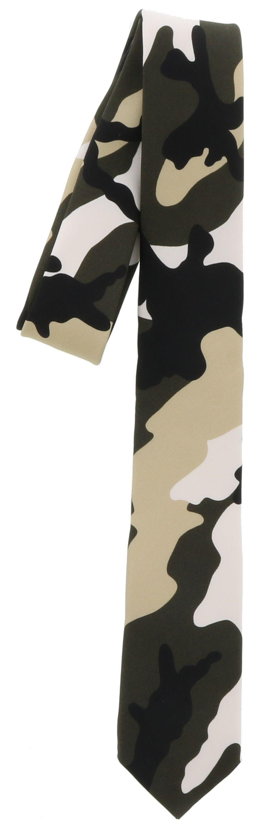 Valentino Camouflage Tie