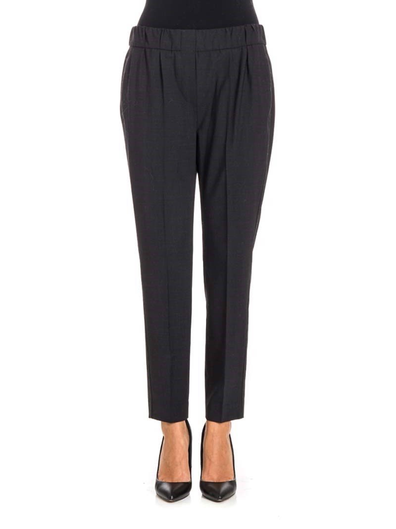 Brunello Cucinelli - Wool Blend Trousers