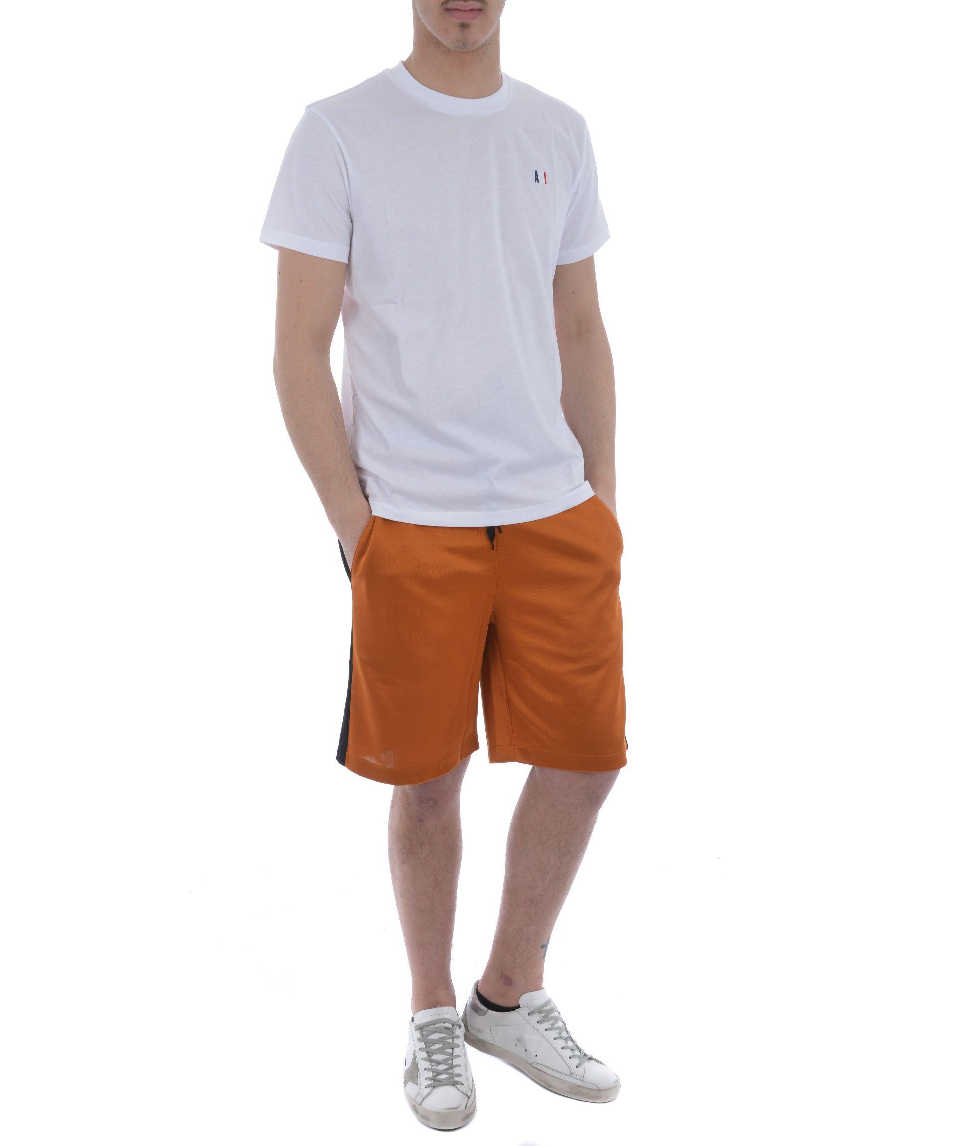Ami Alexandre Mattiussi Side Striped Shorts