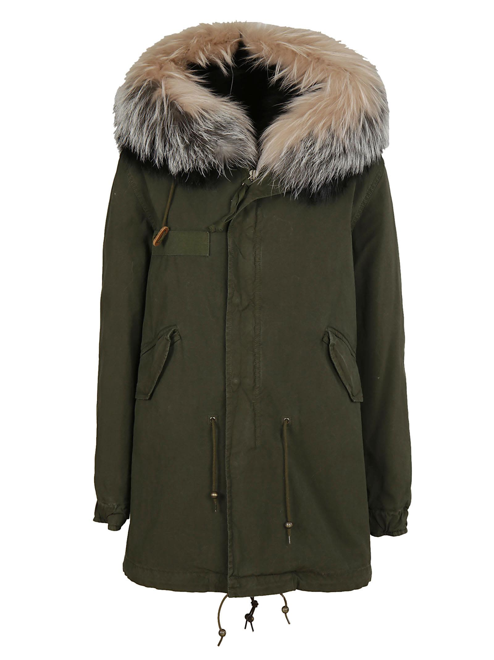Mr & Mrs Italy Fur Trim Parka