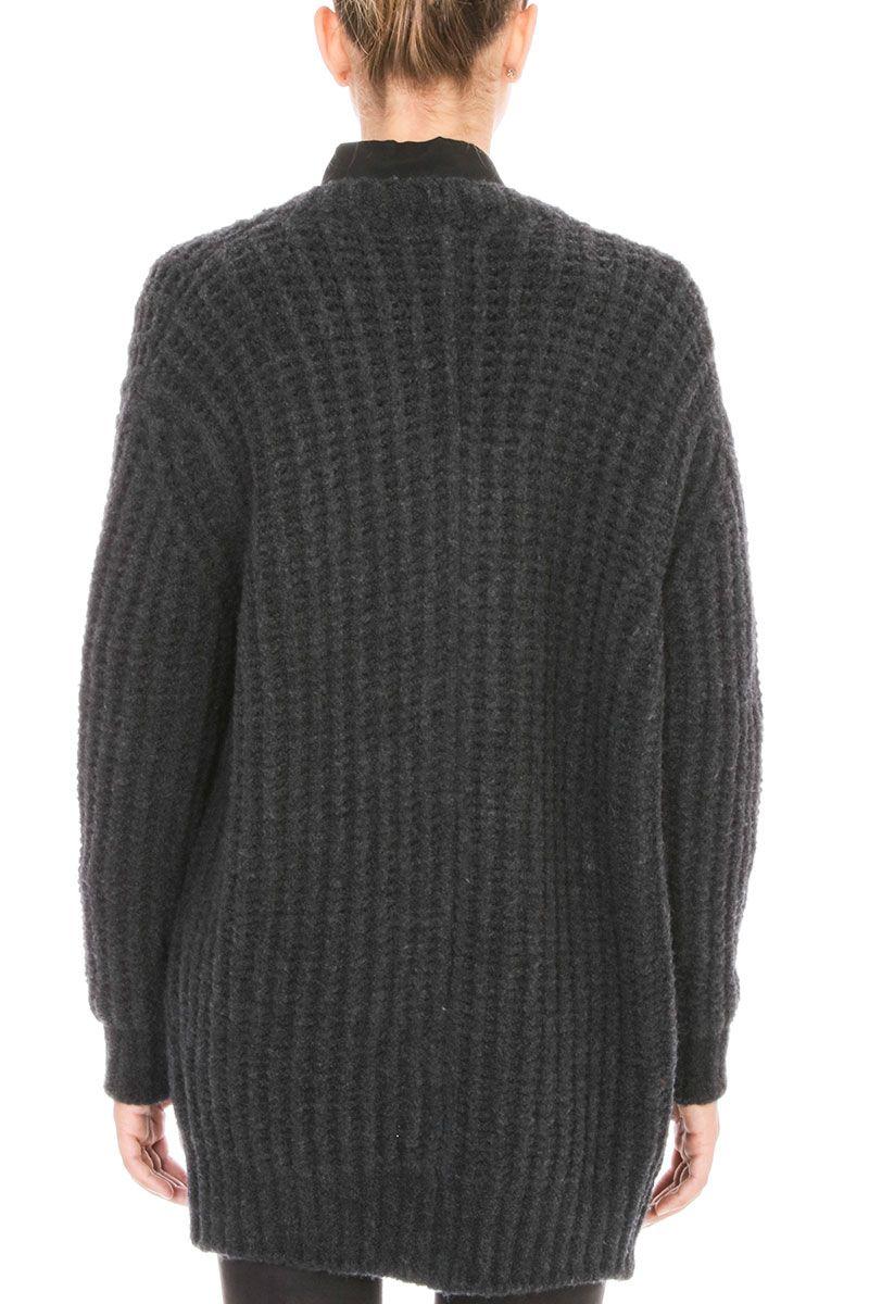 IRO - IRO Yahk Grey Cardigan - grey, Women's Cardigans | Italist