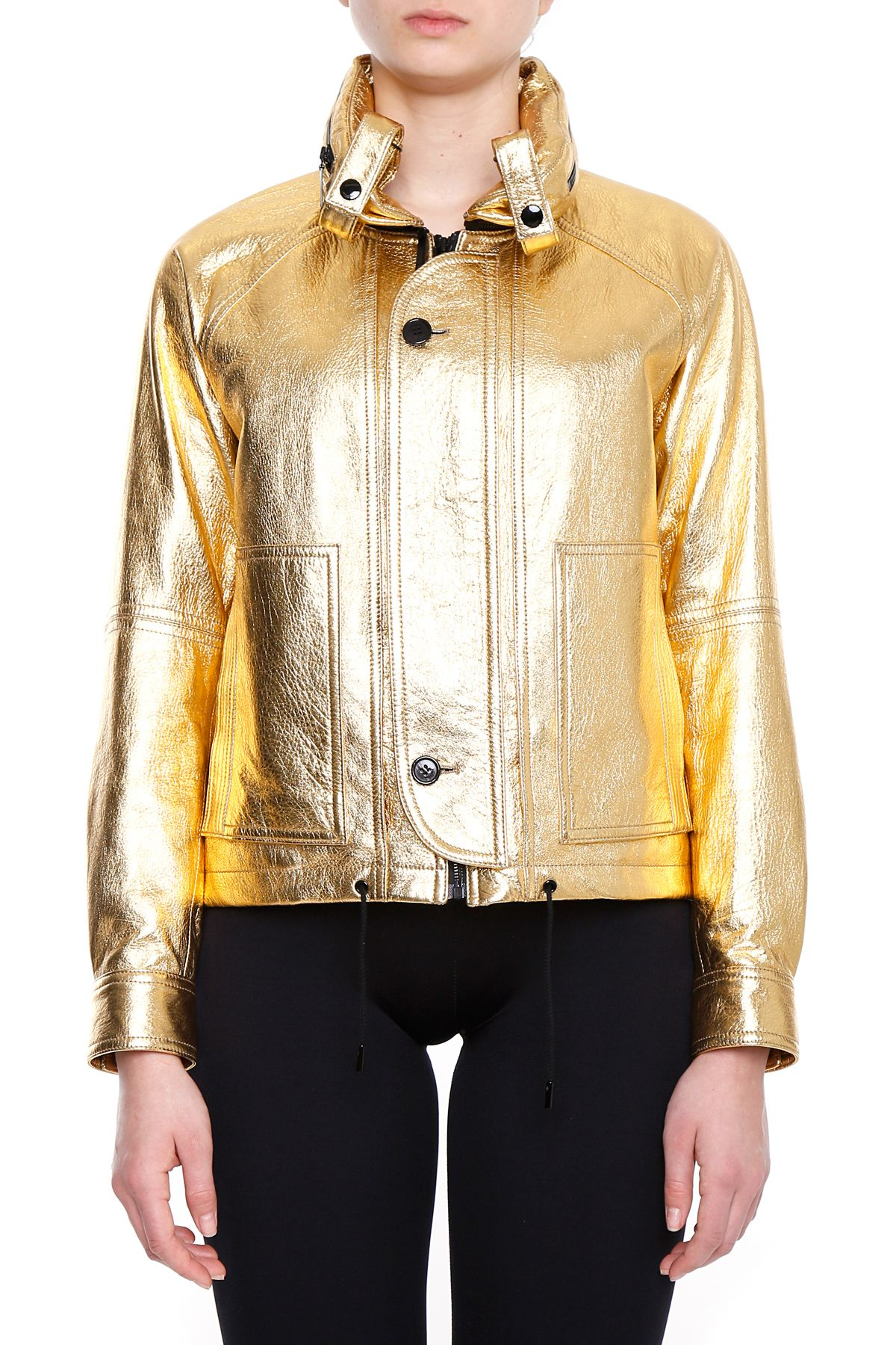 Laminated Leather Jacket 9875302