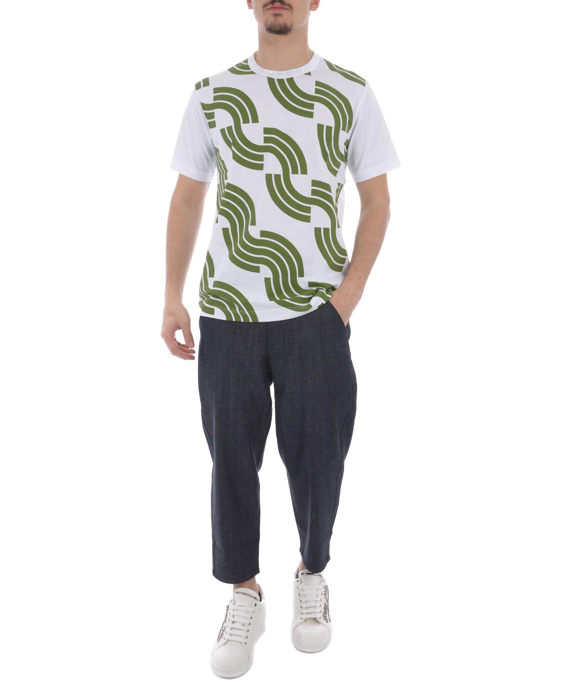 Comme Des Gar ons Shirt Printed T-shirt