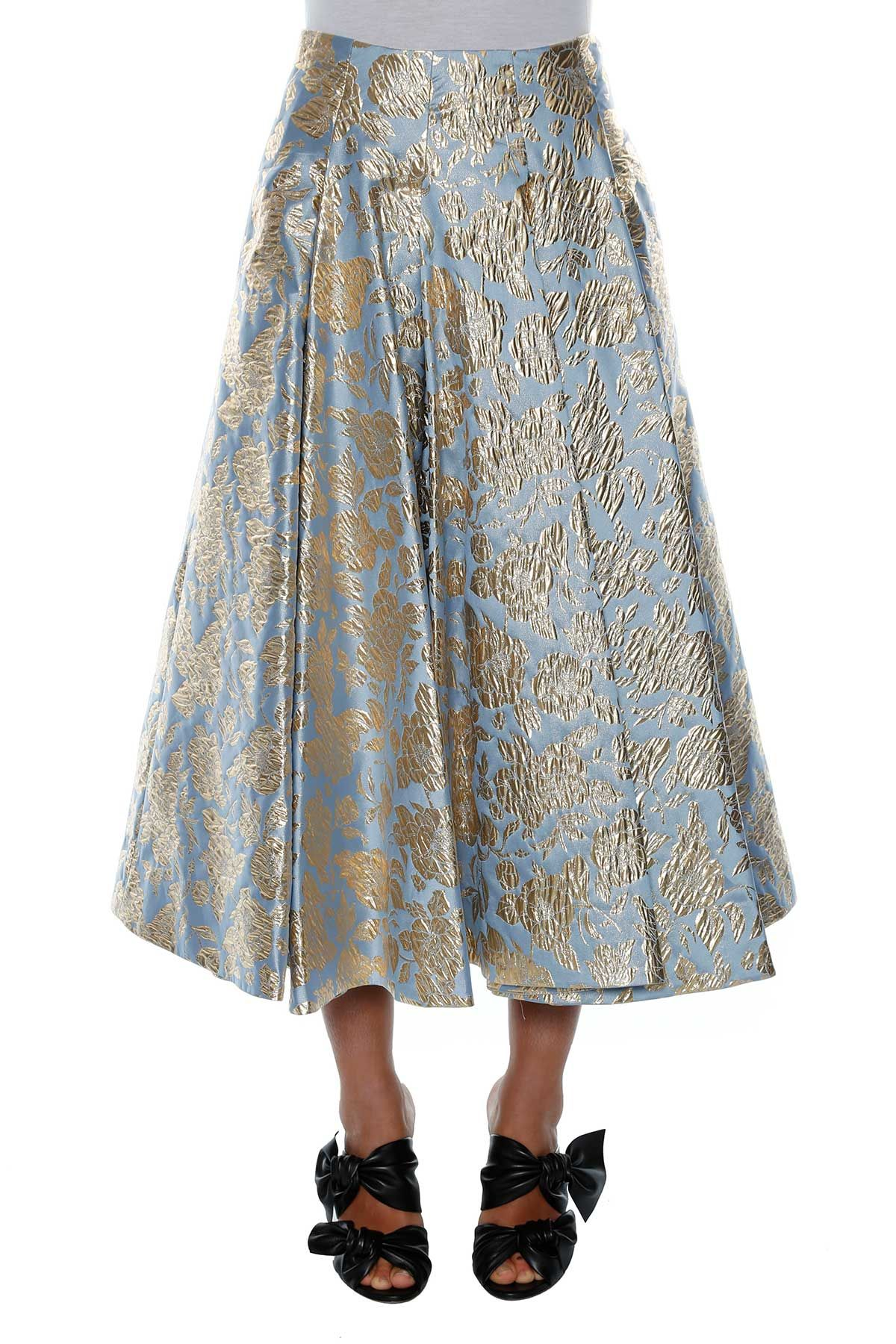 Msgm Jacquard Midi-skirt