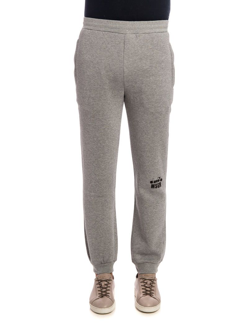 Msgm Cotton And Viscose Jogging Trousers