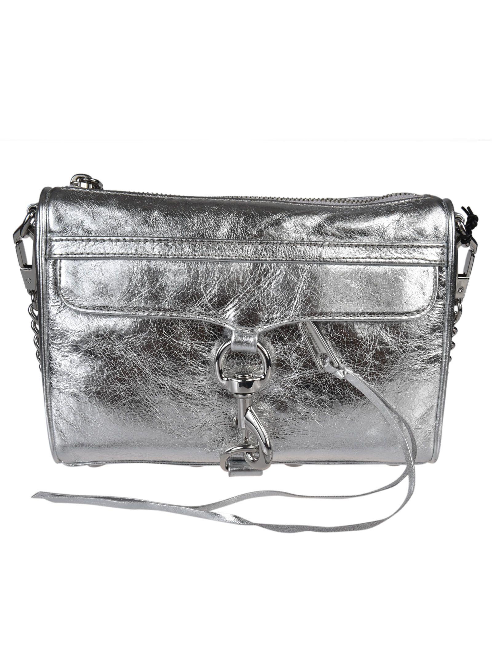 Rebecca Minkoff Mini Mac Distressed Shoulder Bag
