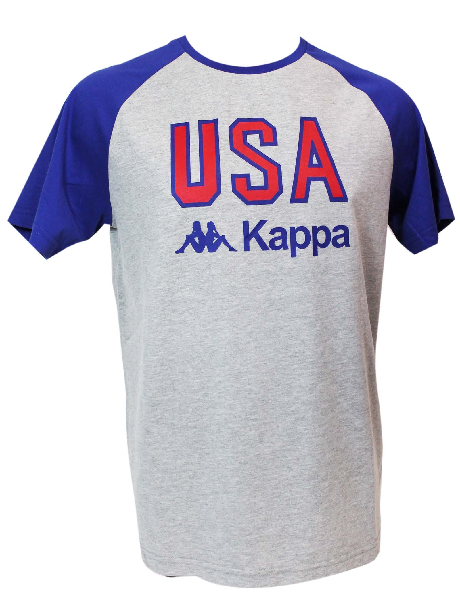 Kappa Melange Grey L.a. Usa T-shirt
