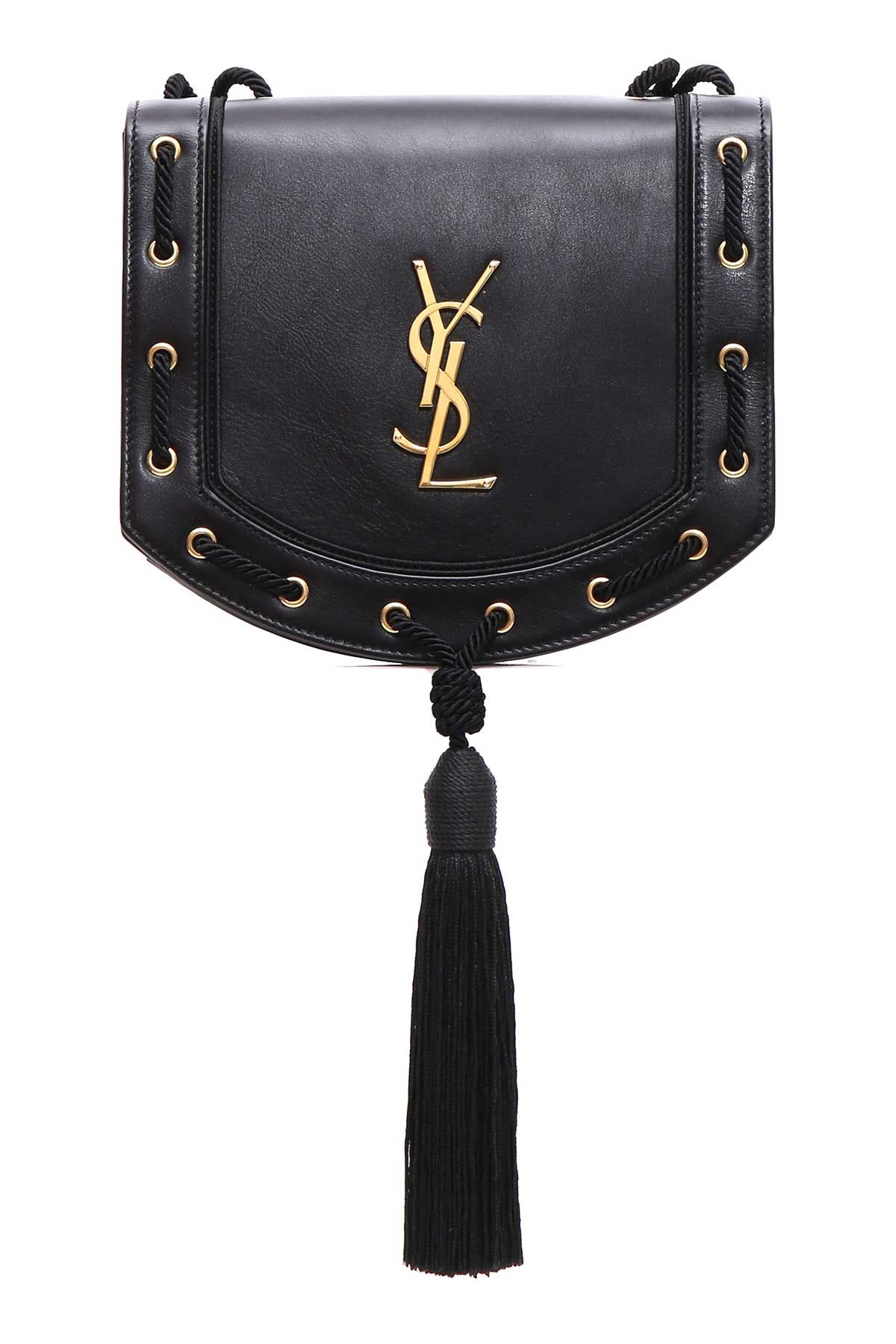 Saint Laurent Tassel Shoulder Bag