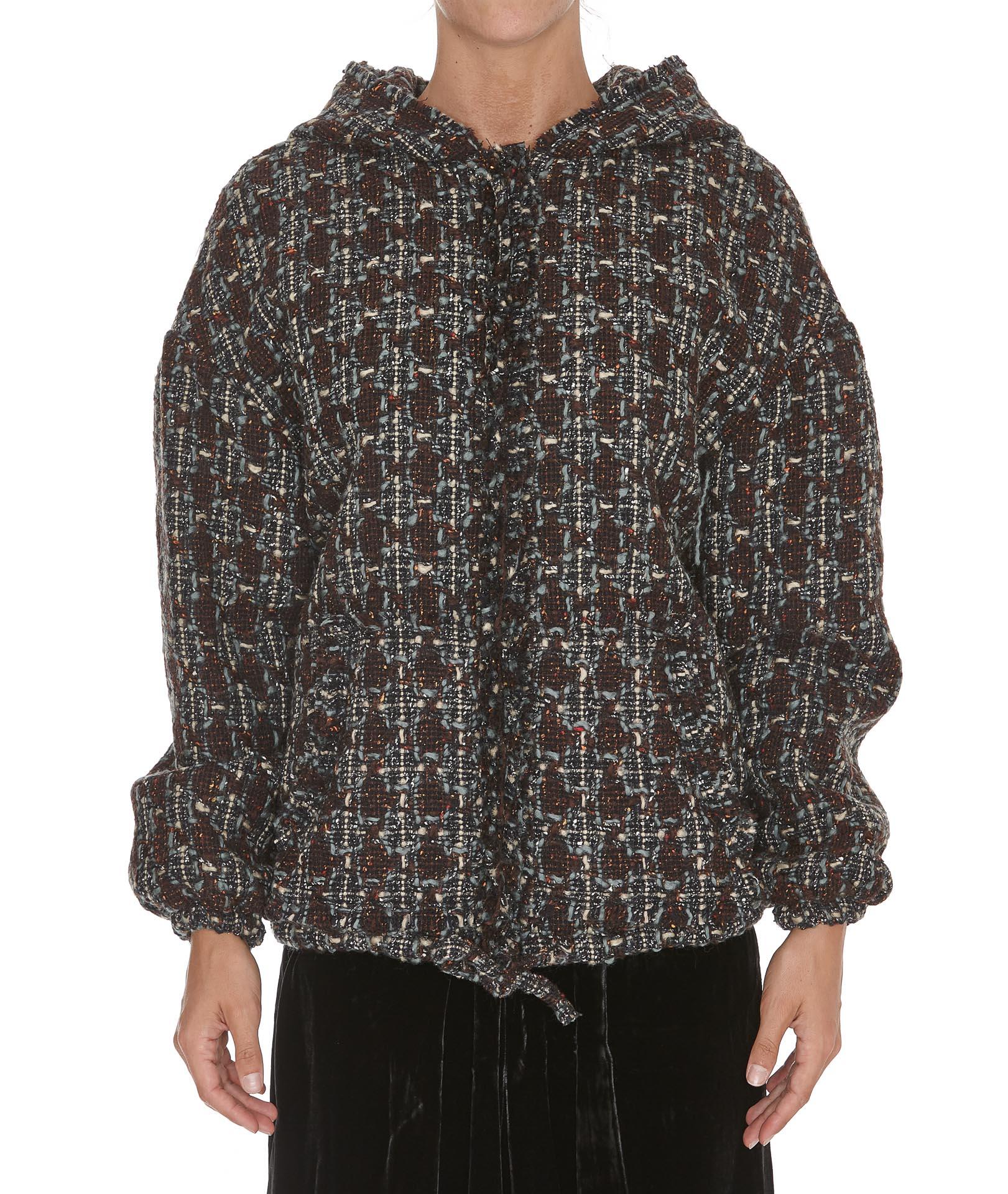 Isabel Marant - Isabel Marant Fliver Coat Jacket - Burgundy, Women's Coats | Italist