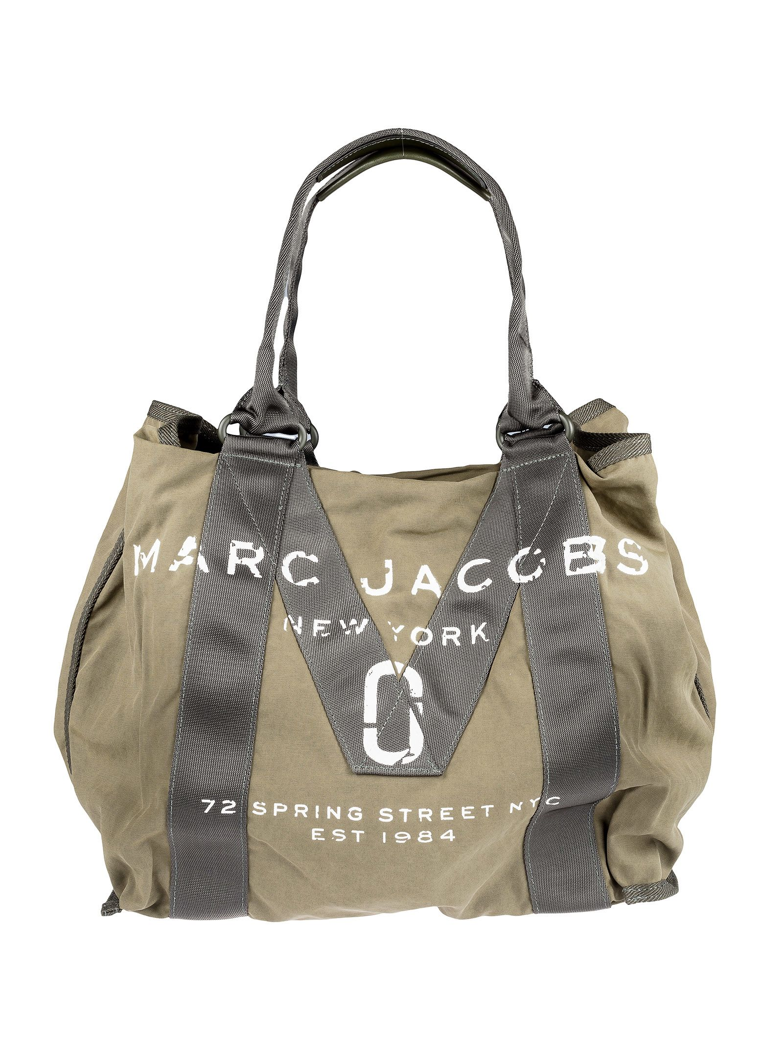 marc jacobs female marc jacobs logo print tote