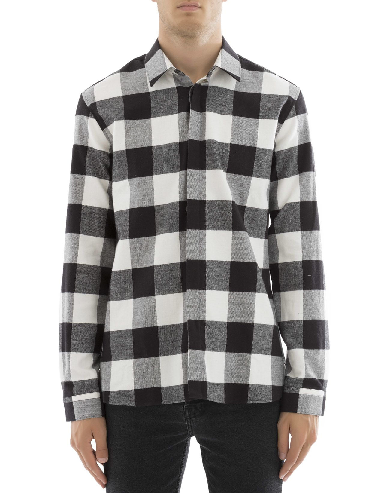 Squared Cotton Shirt