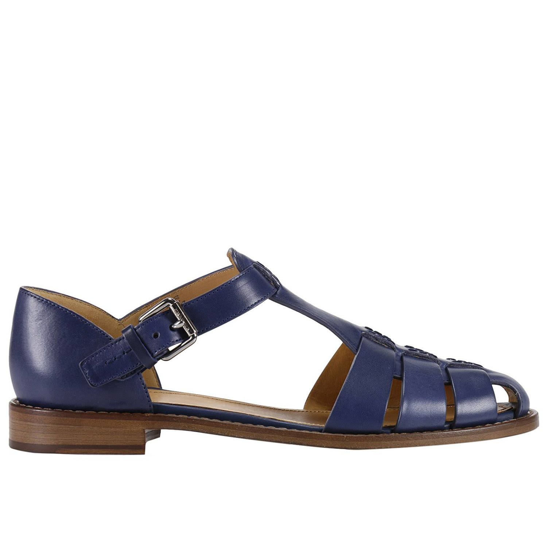 Flat Sandals Shoes Women Churchs
