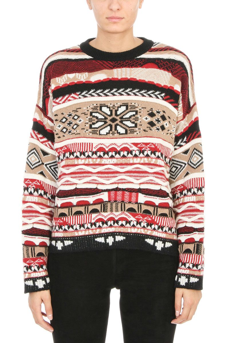 Laneus Jacquard Sweater