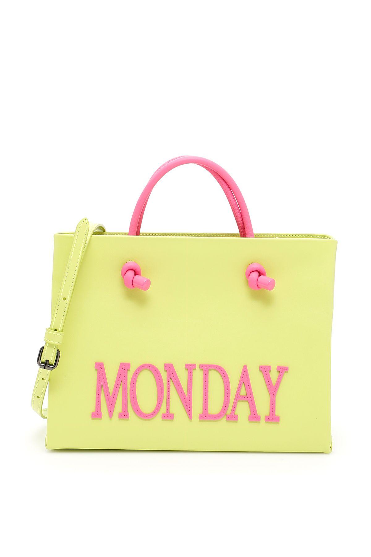 Leather Monday Shopping Bag
