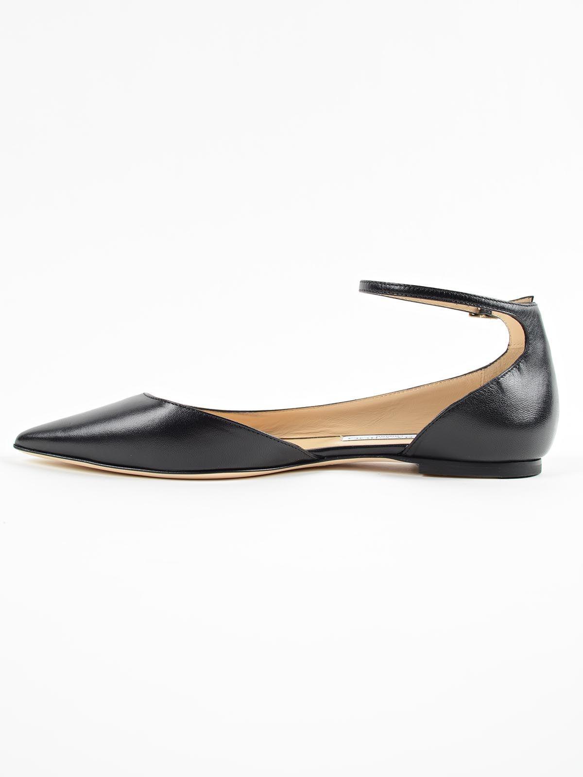jimmy choo jimmy choo ballerina black women 39 s shoes italist. Black Bedroom Furniture Sets. Home Design Ideas
