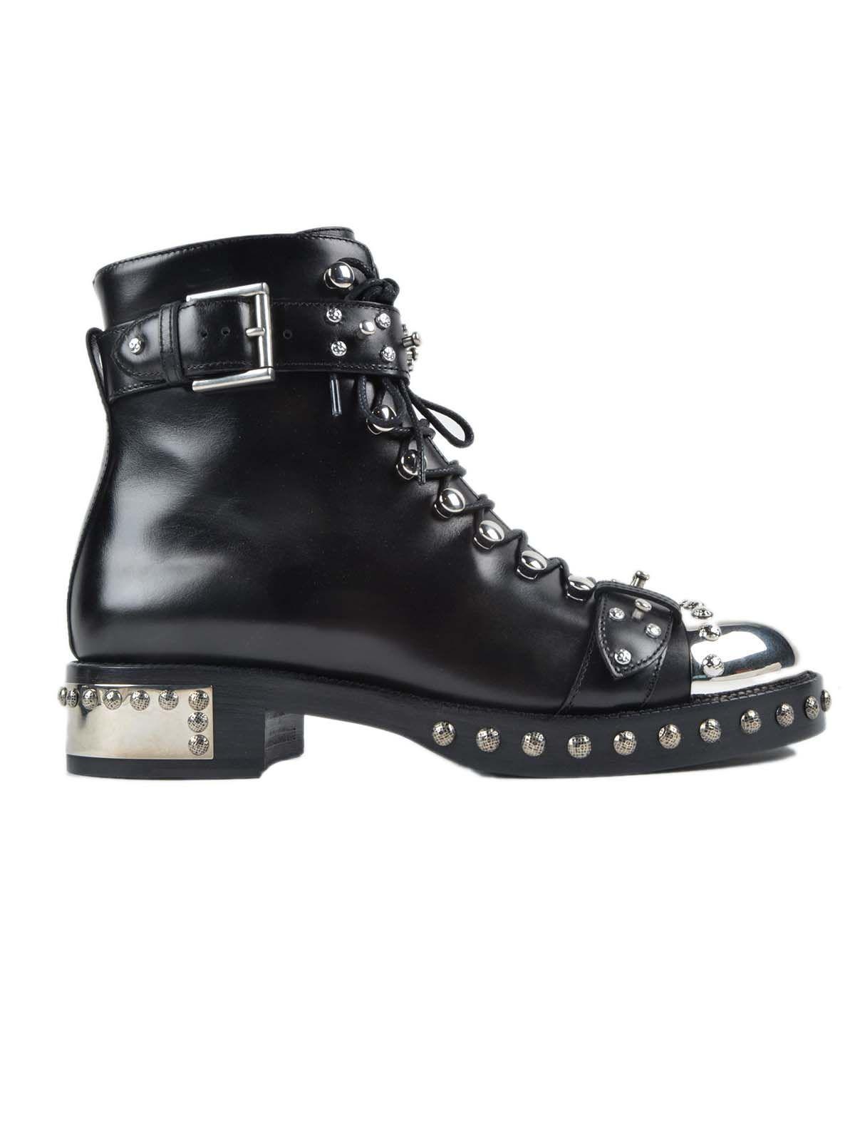 Alexander McQueen - Alexander McQueen Studded Boots ...
