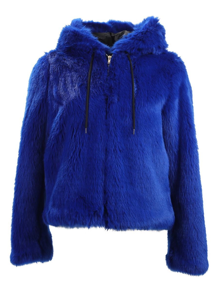 Faux Fur Hood Jacket