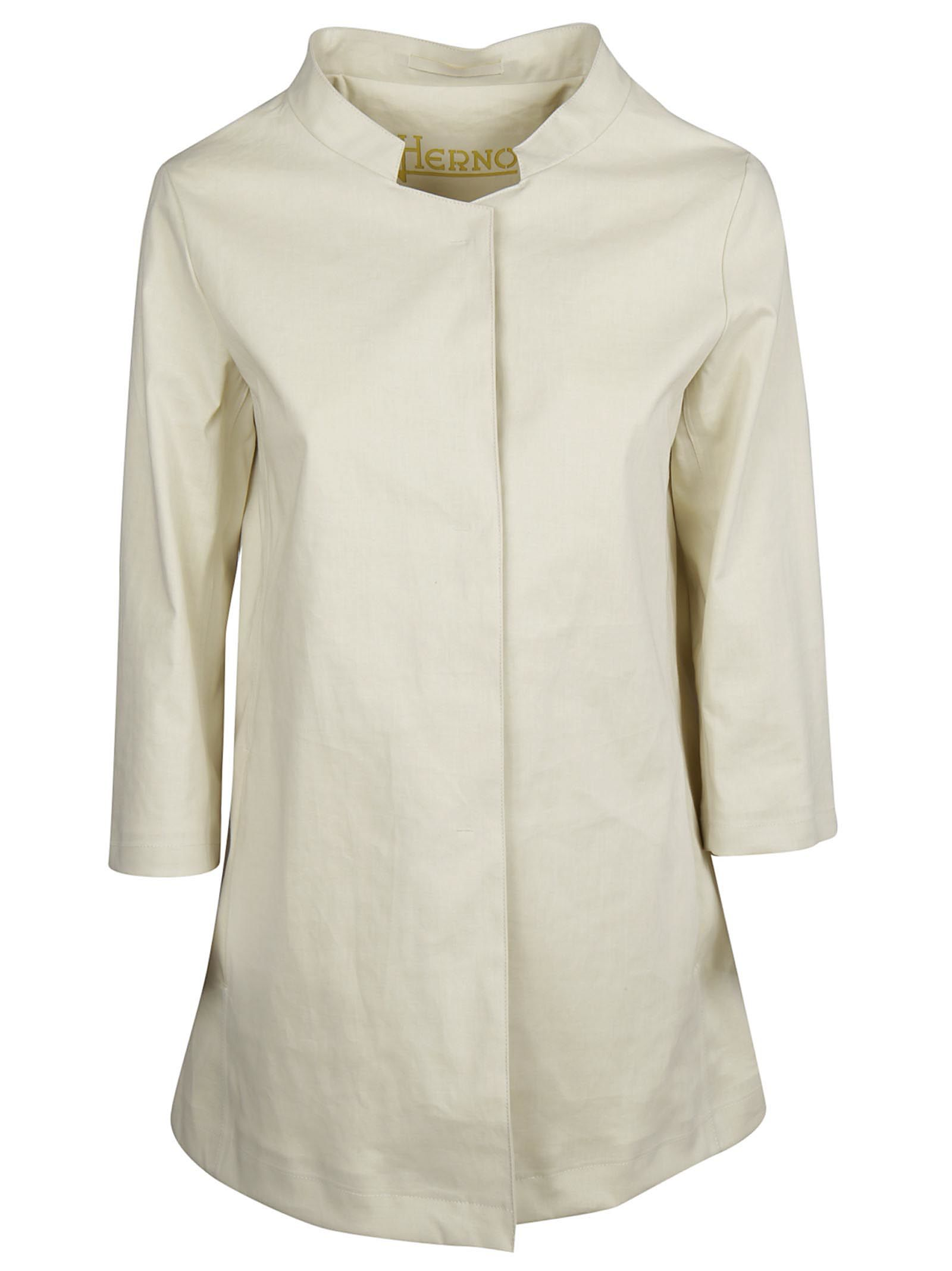 Herno Button Up Coat