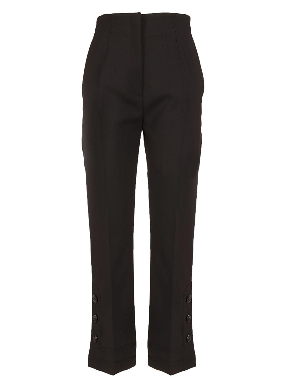 Alberta Ferretti Classic Cropped Trousers