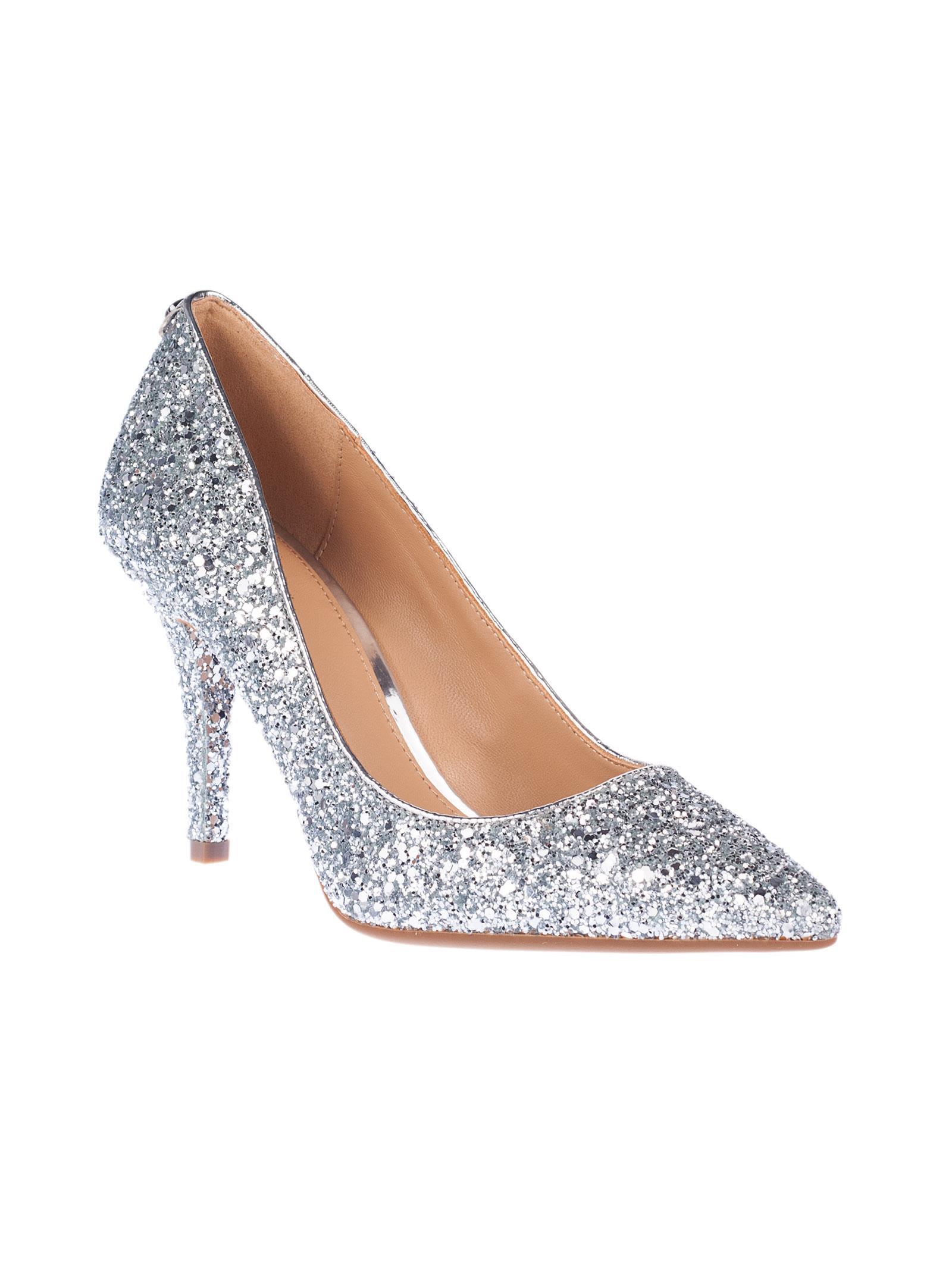 michael kors michael michael kors mk flex pumps silver women 39 s high heeled shoes italist. Black Bedroom Furniture Sets. Home Design Ideas