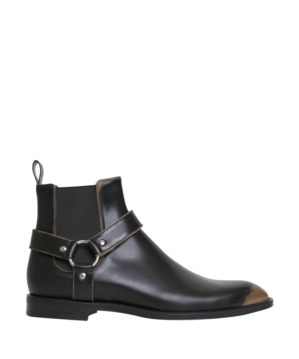 Givenchy Rider Leather Chelsea Boots