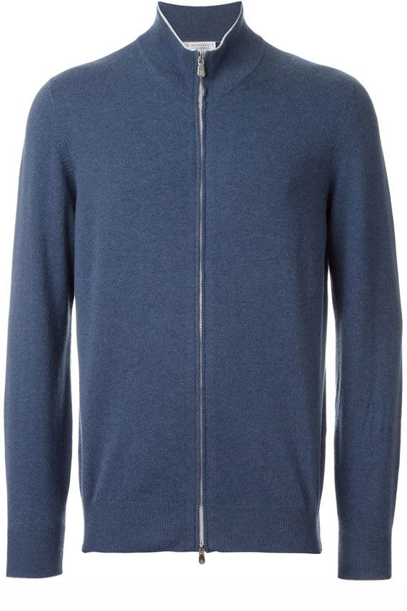 Brunello Cucinelli Full Zip Cardigan