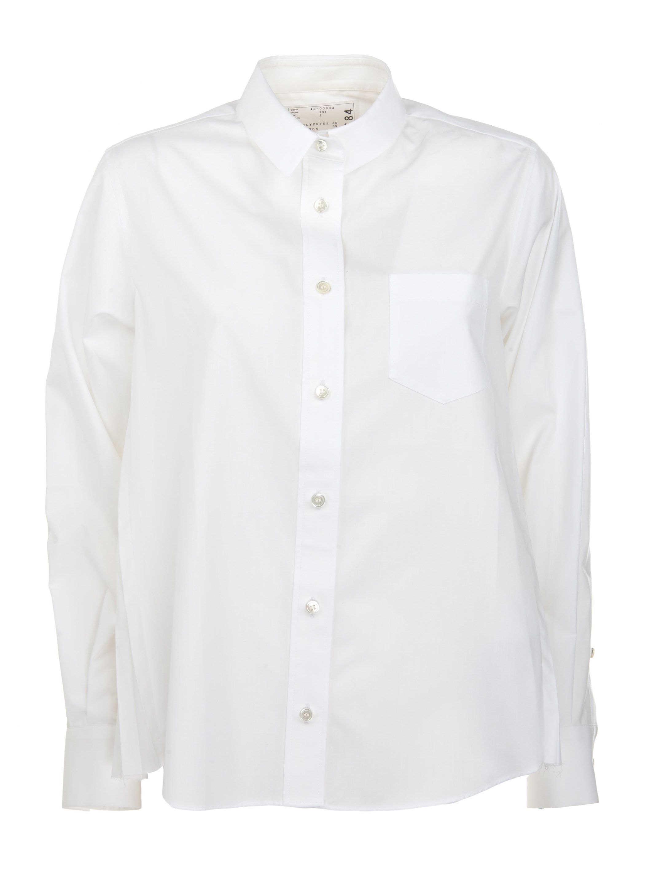 Sacai Pleated Panel Shirt
