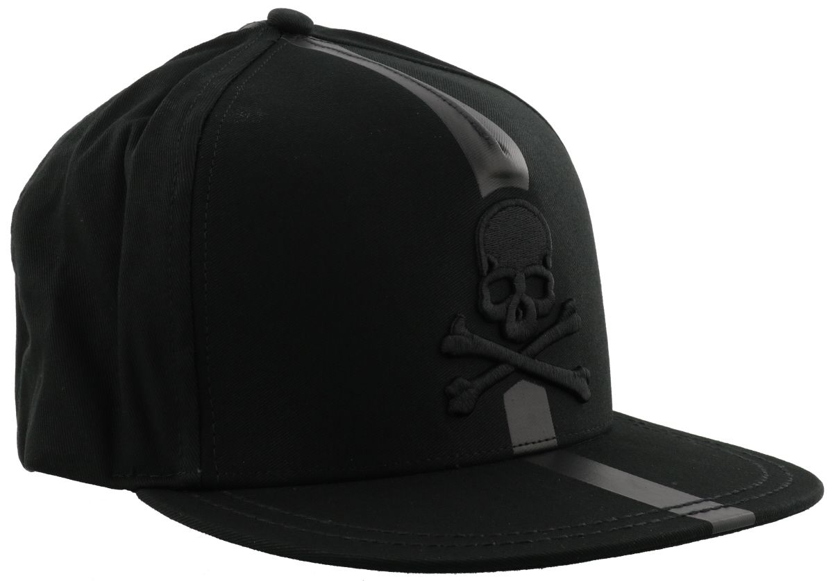 philipp plein jacob baseball cap in black nickel modesens. Black Bedroom Furniture Sets. Home Design Ideas