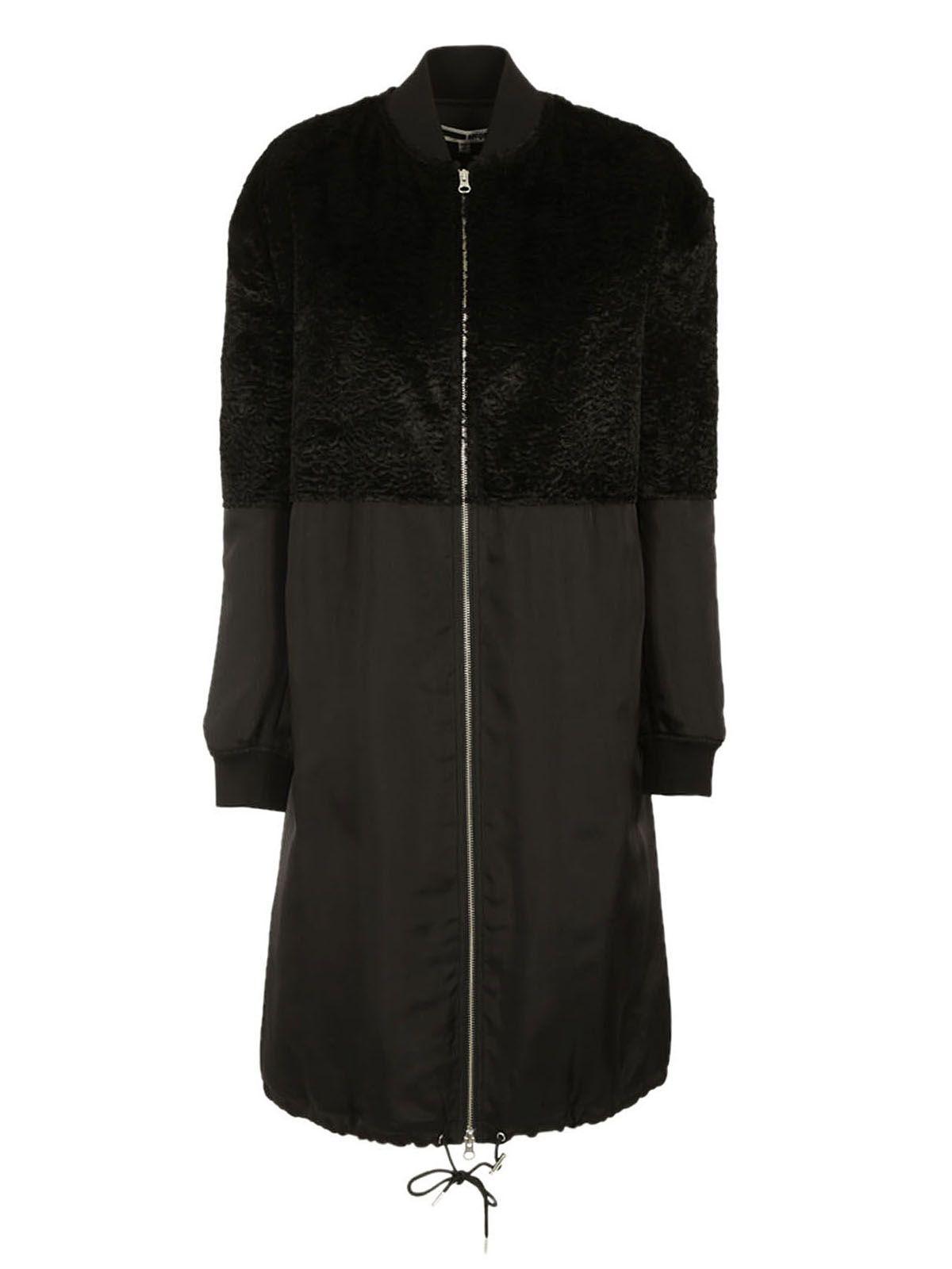 Mcq Alexander Mcqueen Zip Up Coat
