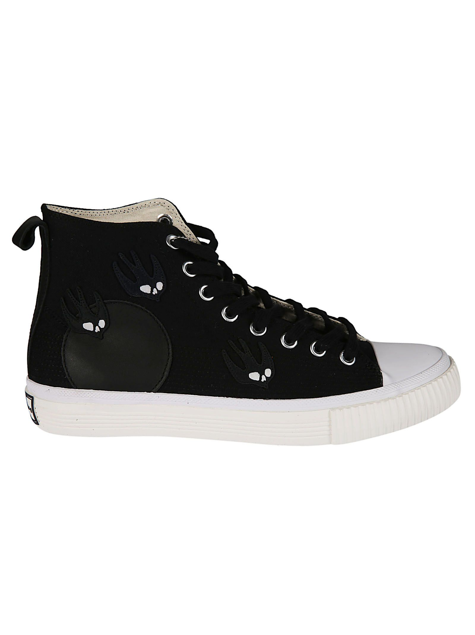 Mcq Alexander Mcqueen Swallow Print Hi-top Sneakers