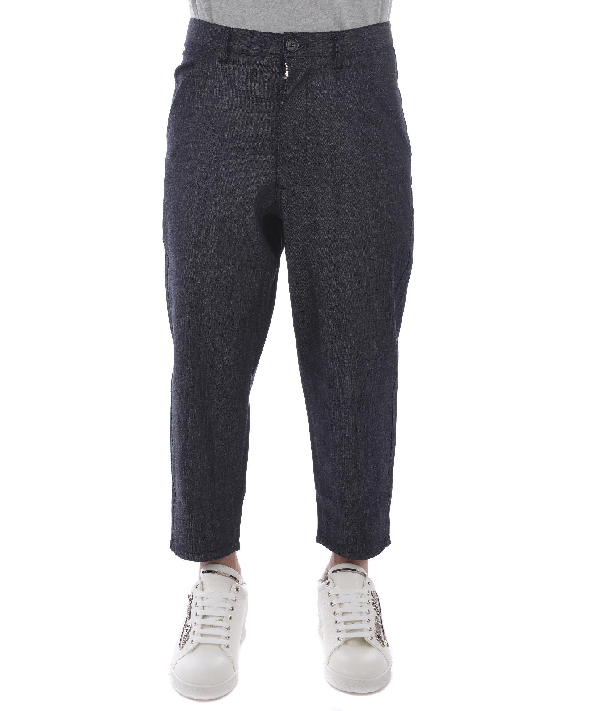 Comme Des Garçons Shirt Boys Cropped Trousers