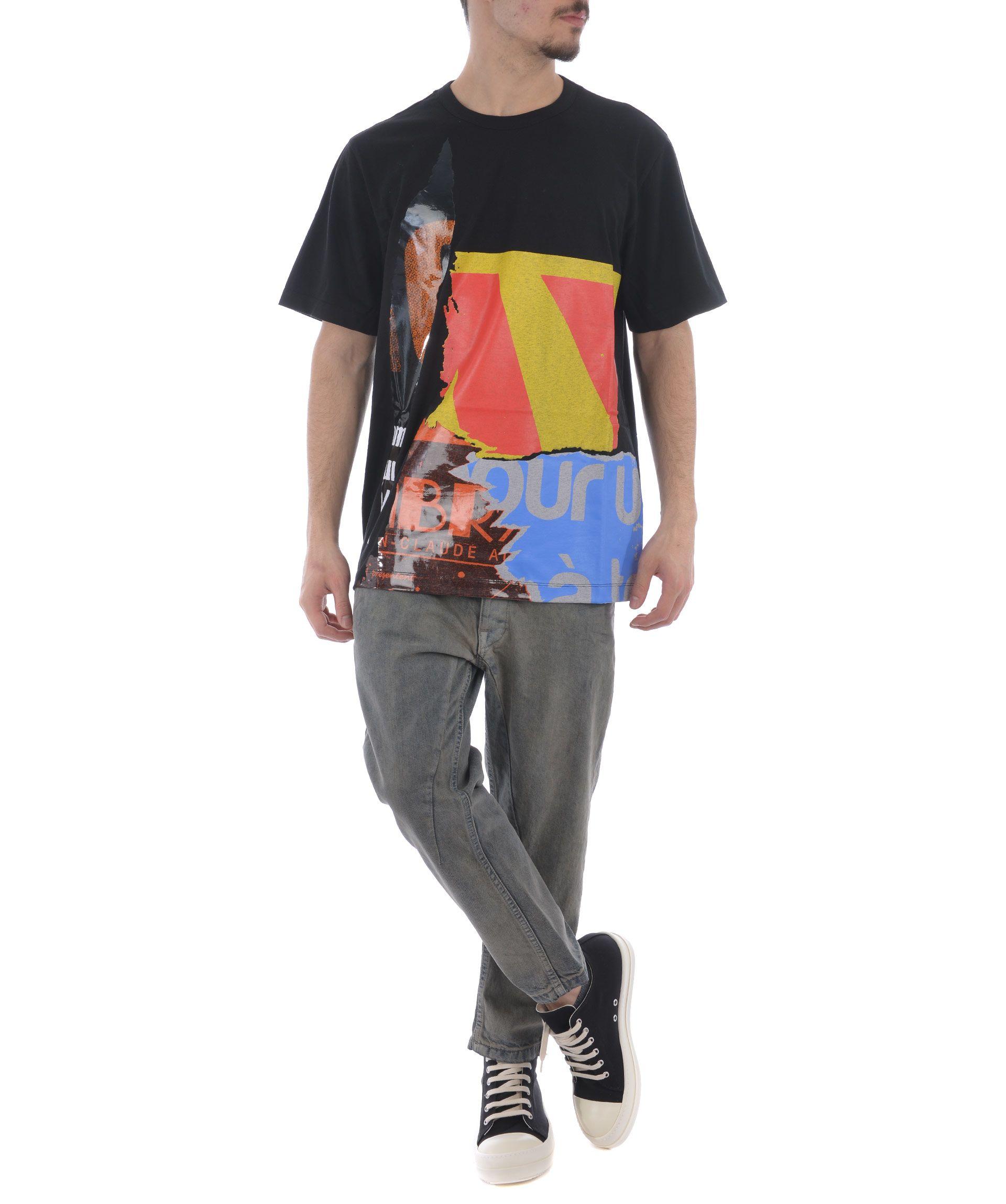 Juun.j Multi-print T-shirt
