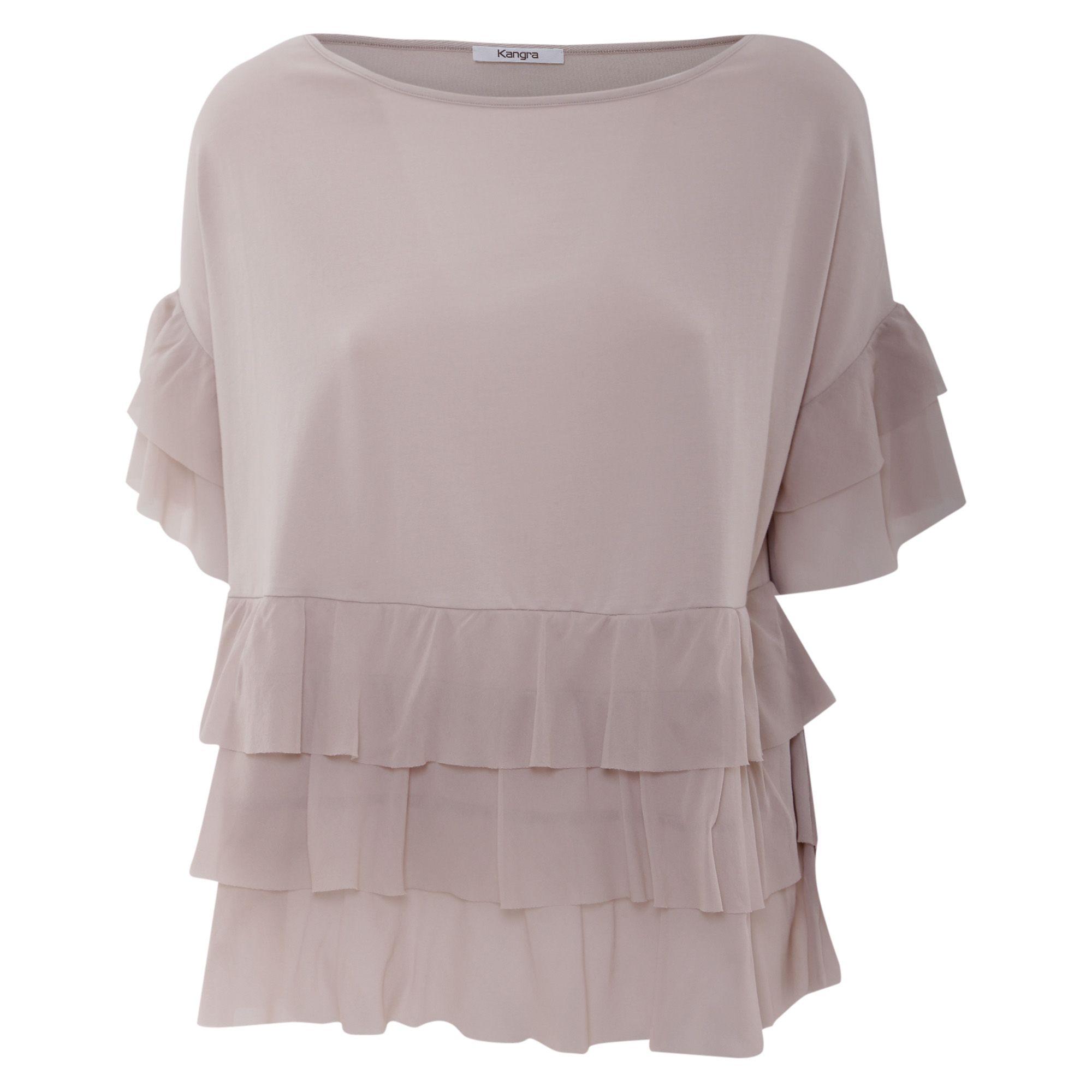 Kangra Cashmere Cotton Blend Blouse