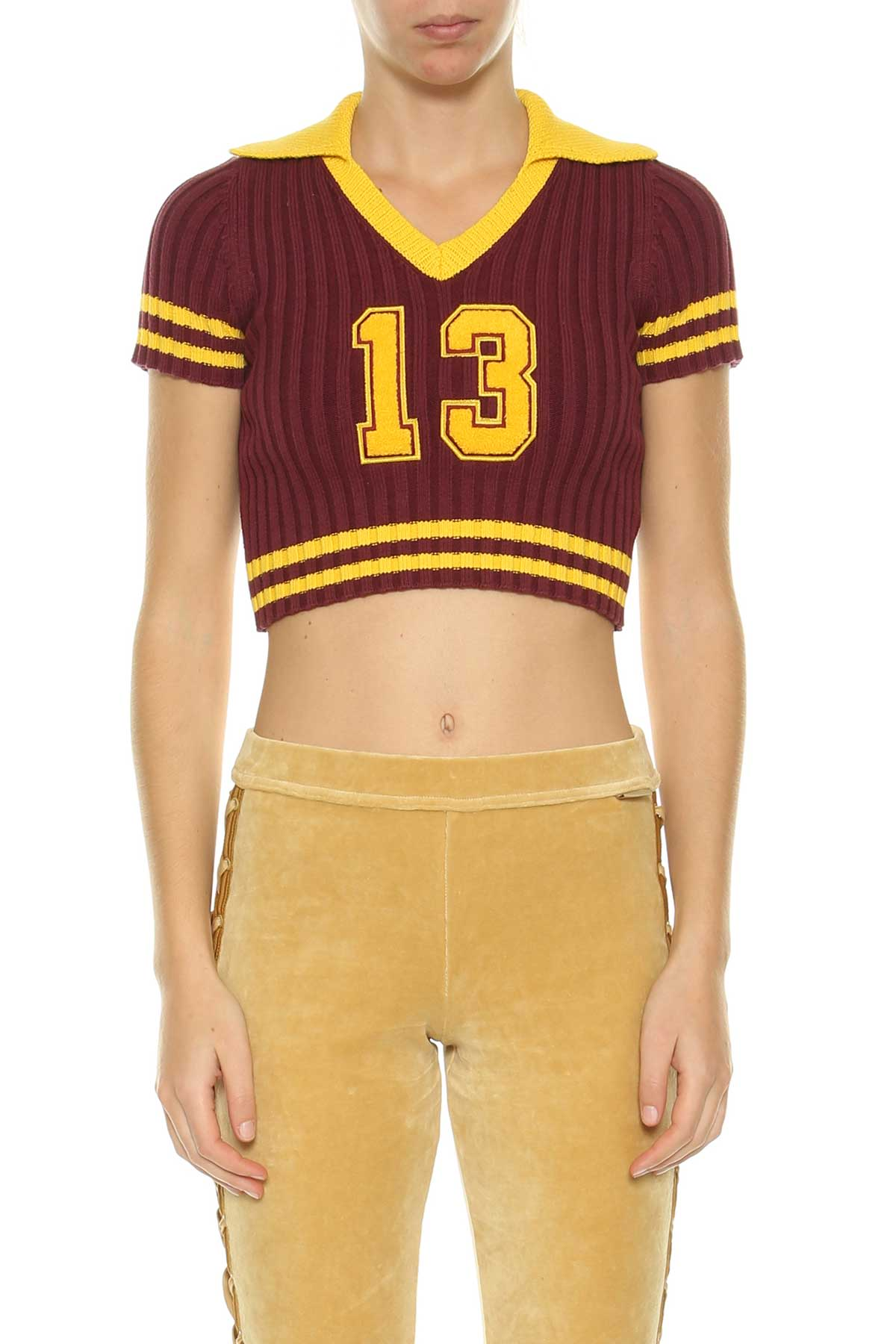Fenty Puma By Rihanna Fenty Puma By Rihanna Johnny Collar Cropped Sweater