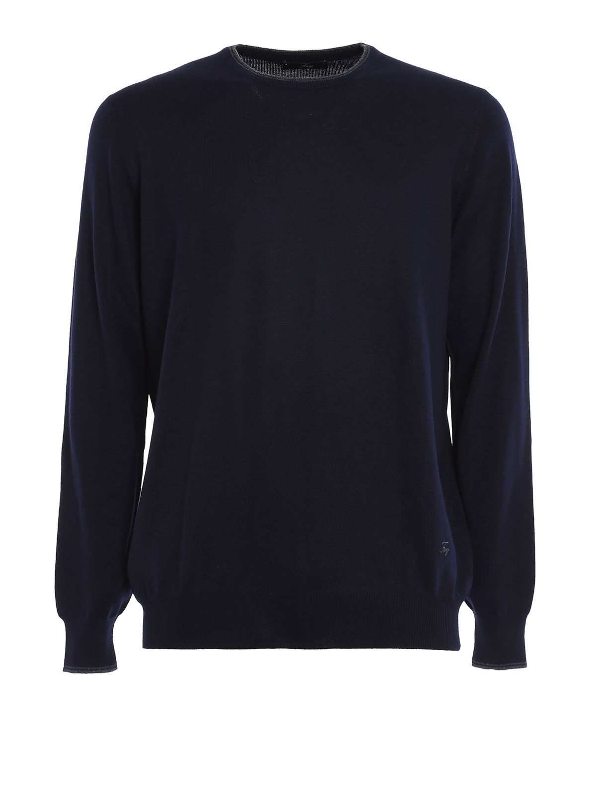 Contrasting Elbow Patch Sweater