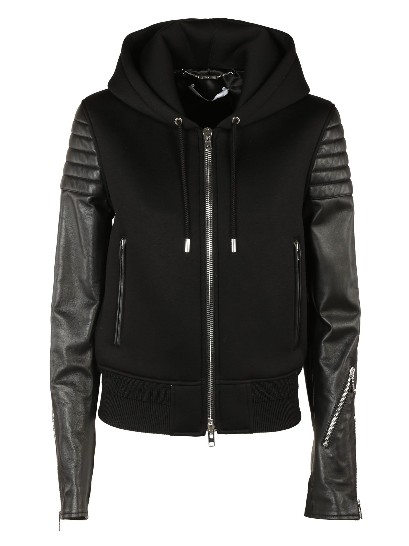Givenchy Quilted Effect Hoodie