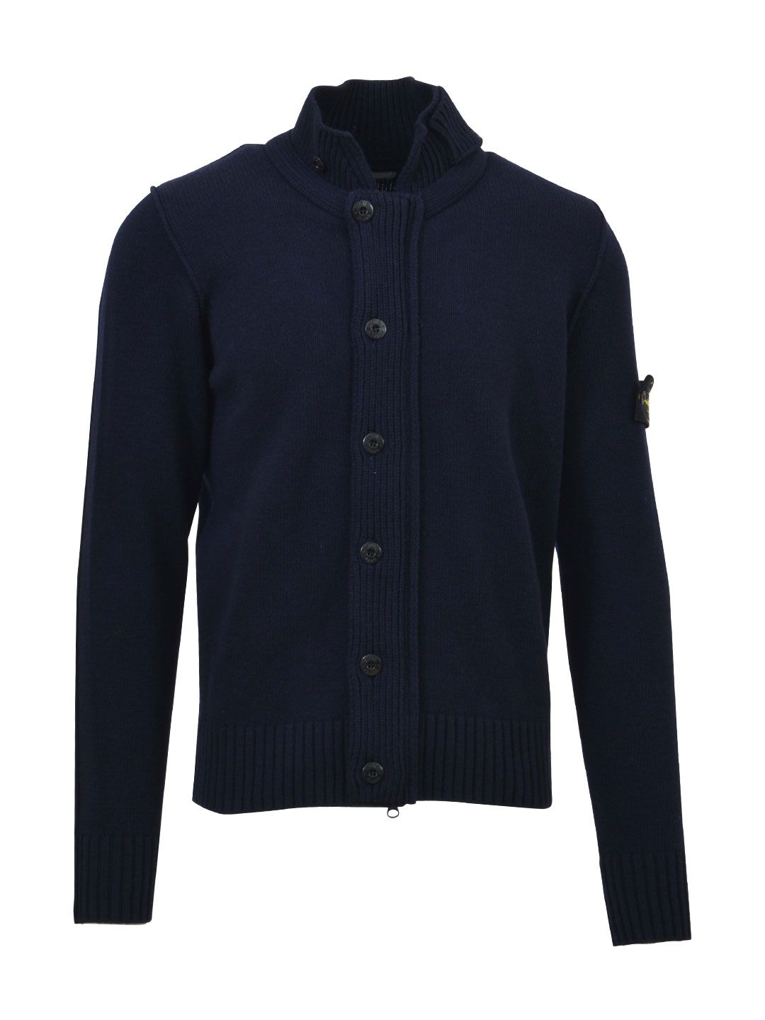 stone island stone island blue cardigan blue men 39 s sweaters italist. Black Bedroom Furniture Sets. Home Design Ideas