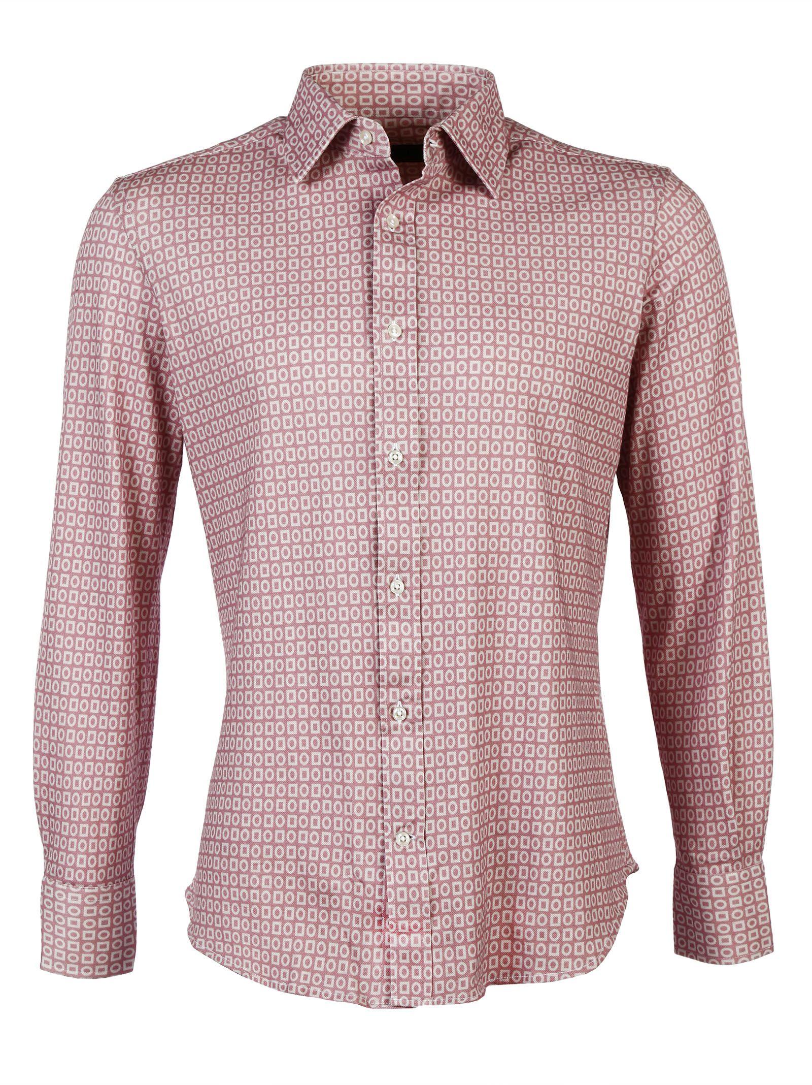 Luchino Camicie Jersey Slimfit Shirt