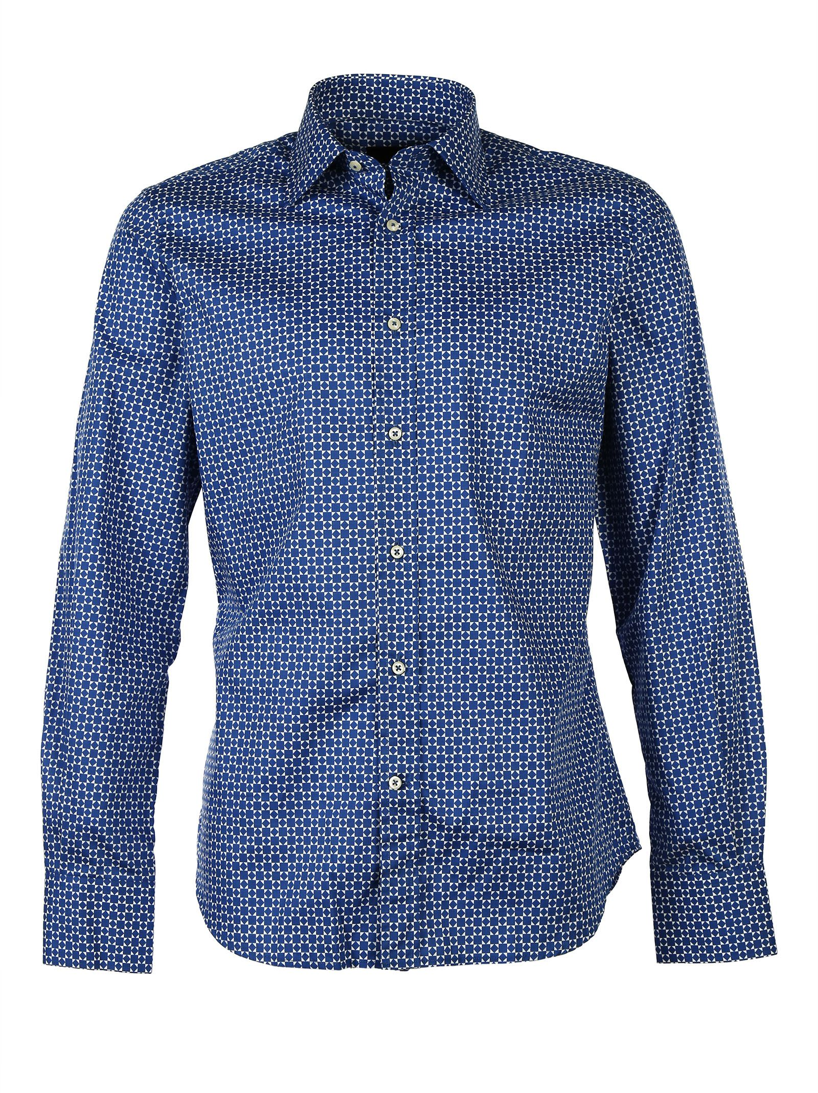 Luchino Camicie Cotton Slimfit Shirt