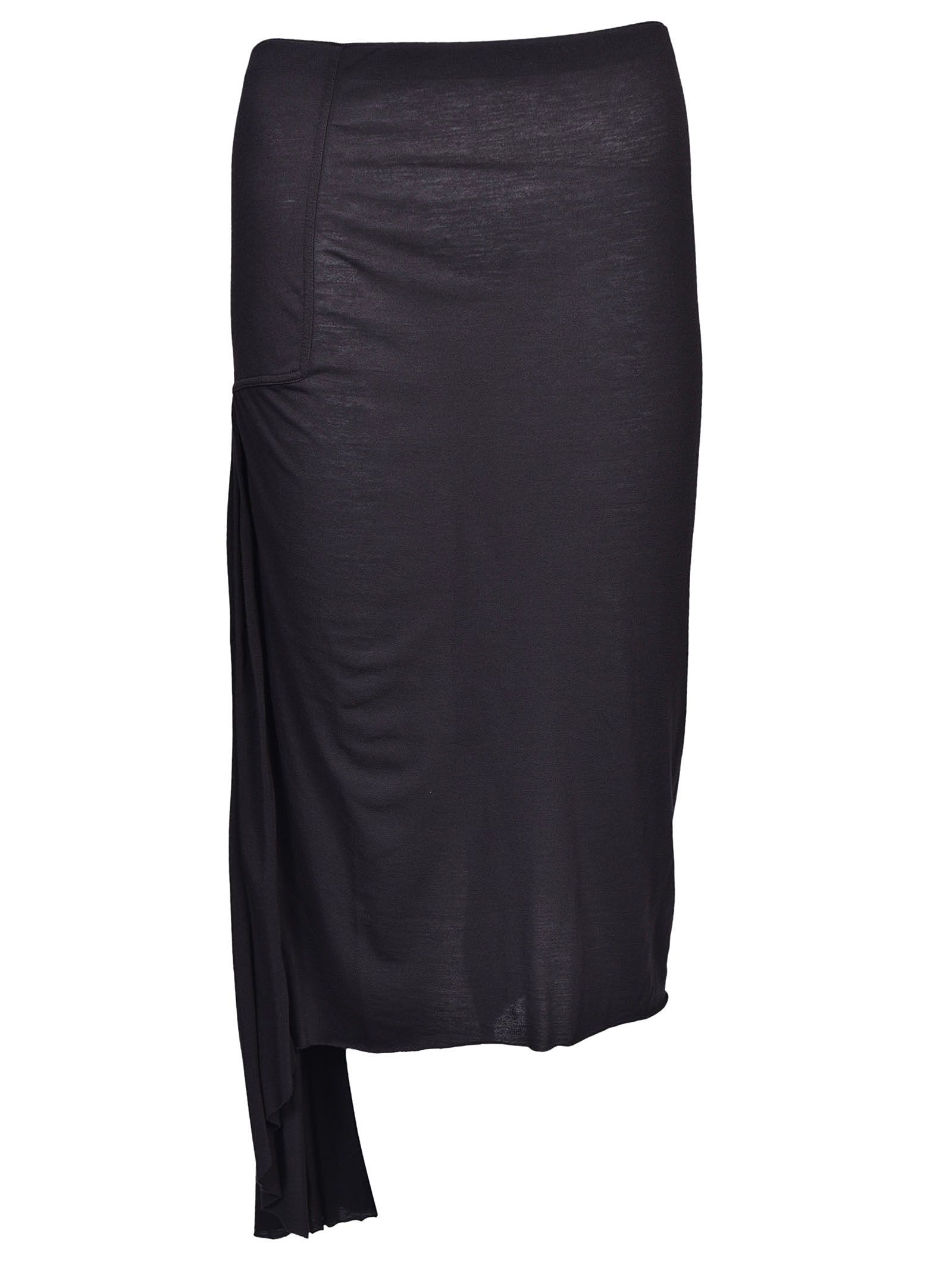 Rick Owens Lilies Asymmetric Skirt