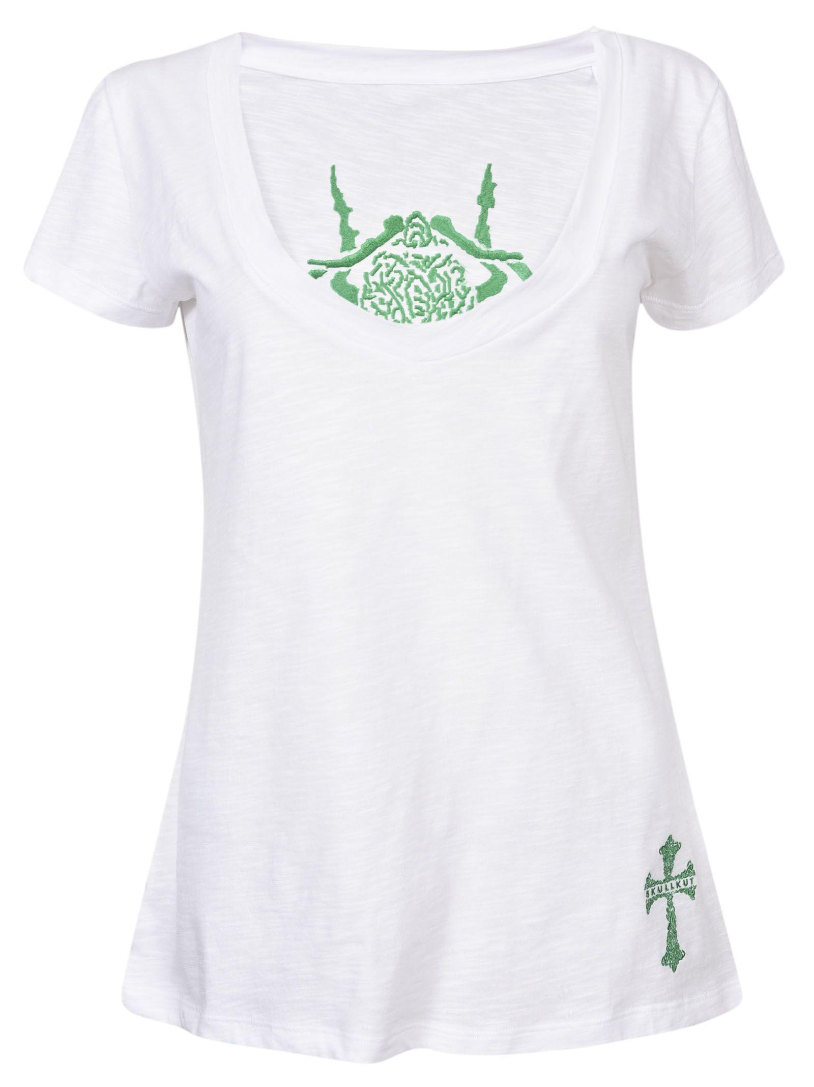 Skullkut t- shirt ciliated beetle