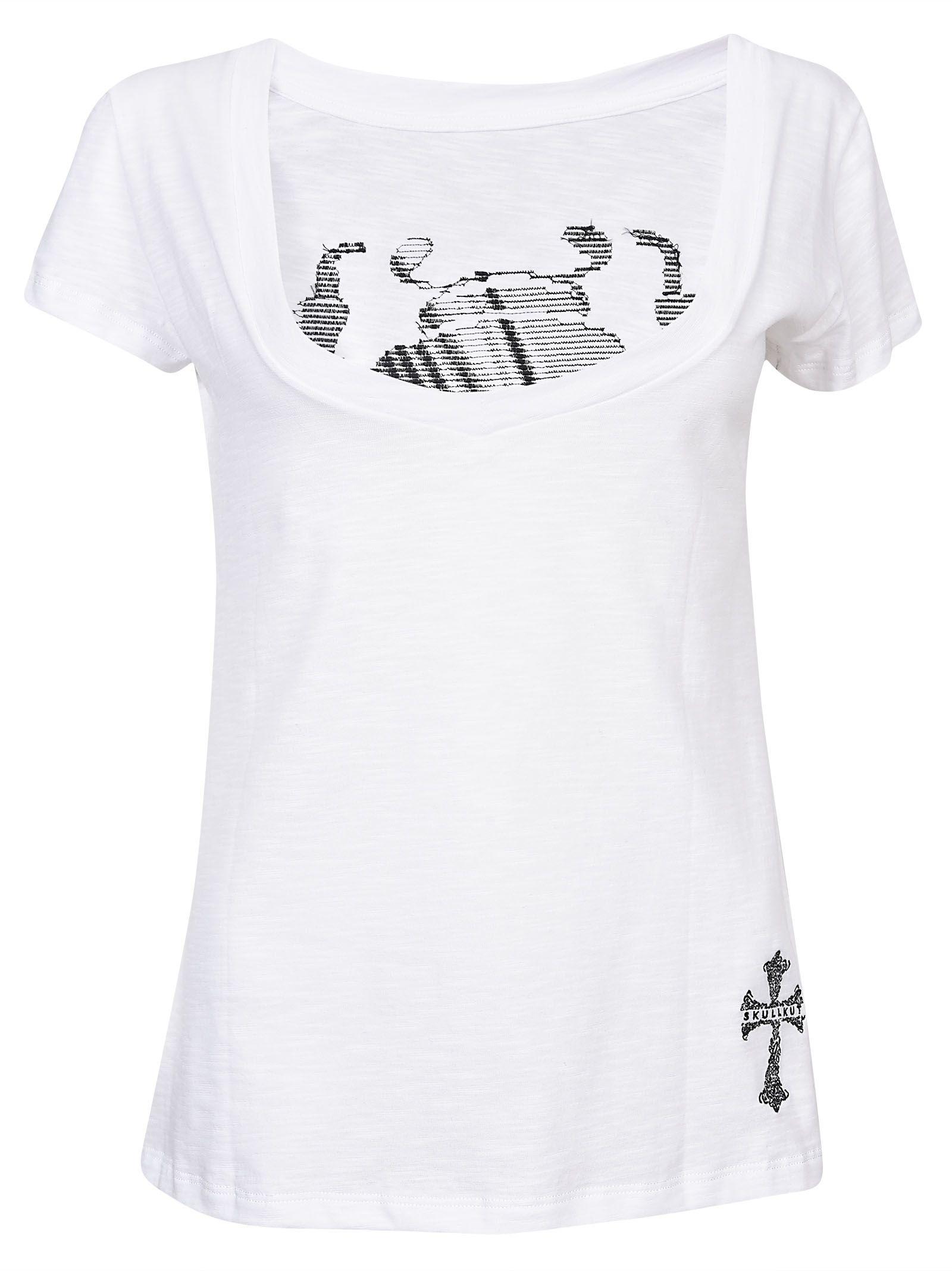 Skullkut t-shirt beetle vintage